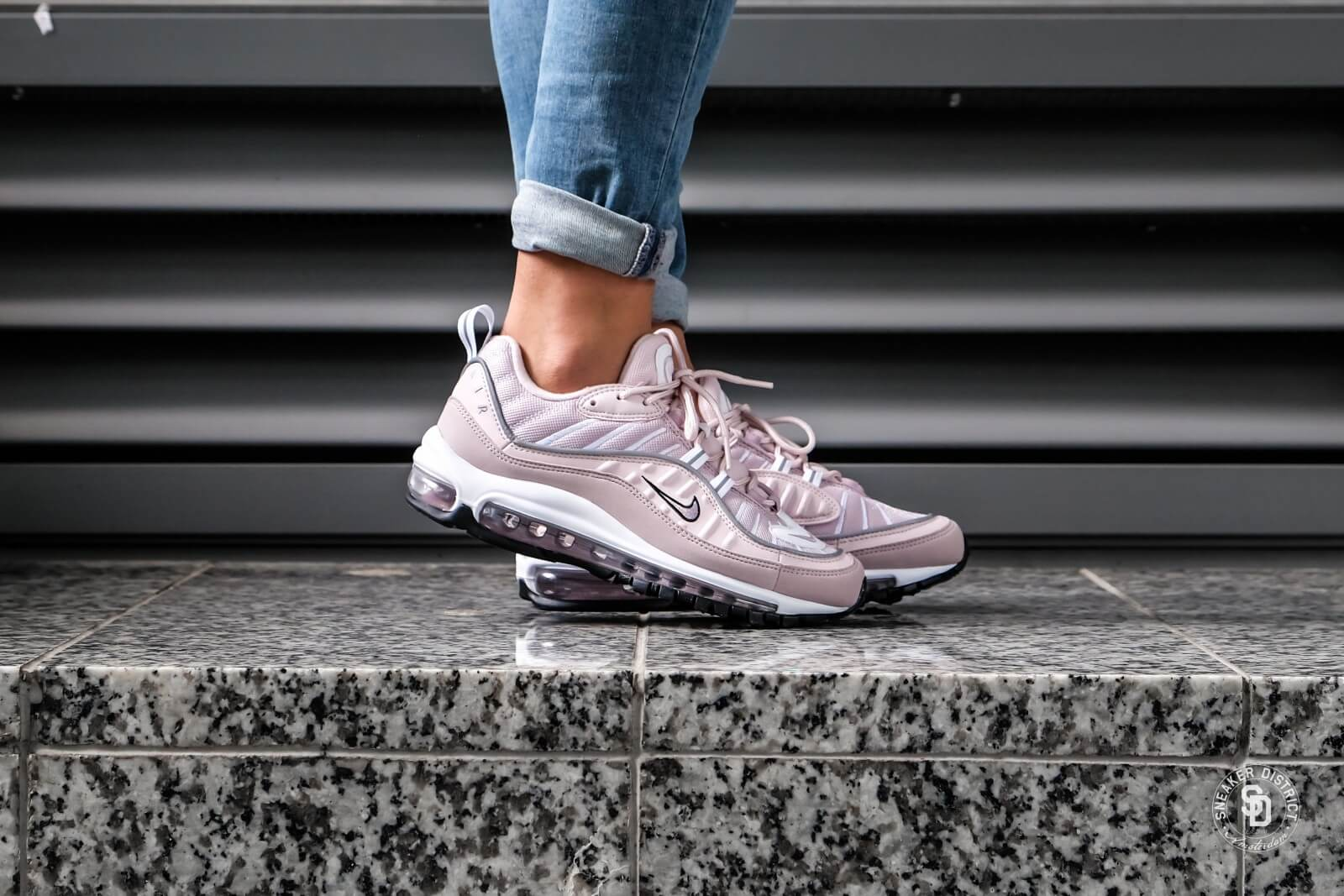 ... official online store 46c6d 22904 nike womens air max 98 barely  roseelemental rose ah6799 60 d1658 07122dcfb3e