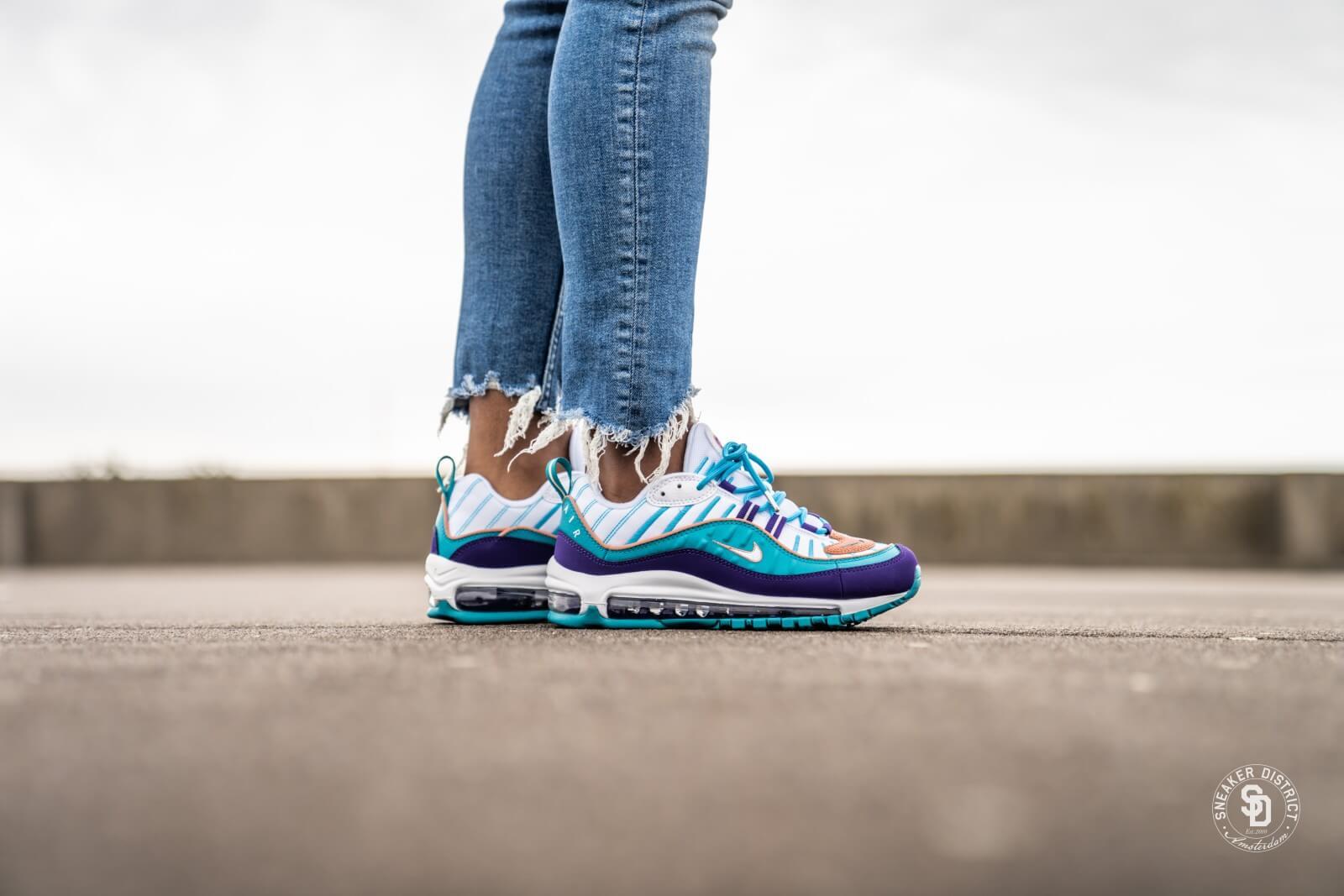Nike Women's Air Max 98 Court Purple/Terra Blush-Spirit Teal