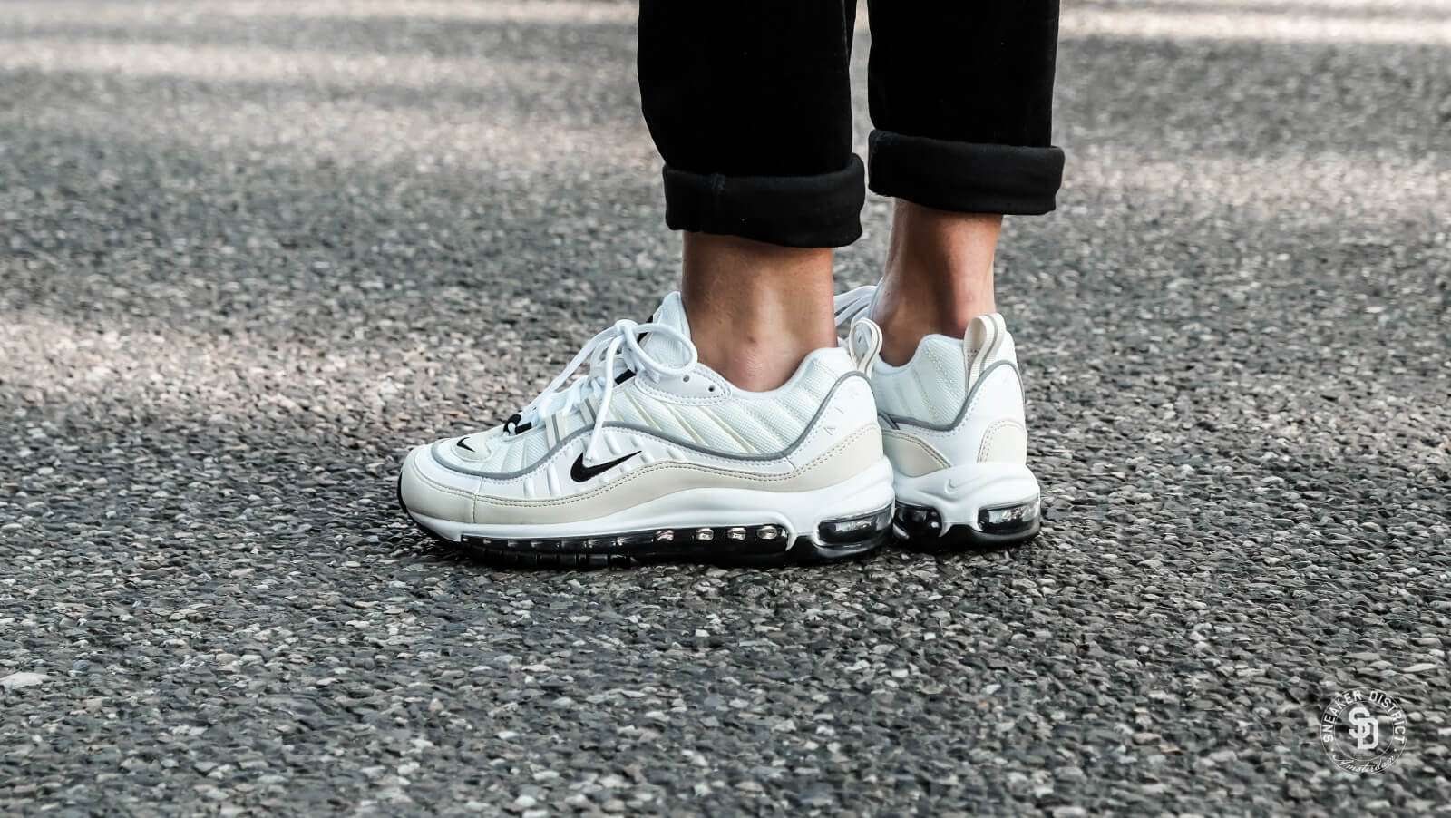 big sale 2ccde 83041 wholesale womens nike air max 98 white a1624 51f51