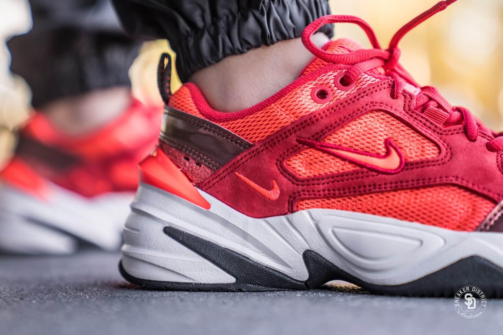 Nike Women S M2k Tekno University Red Bright Crimson Phantom Av7030 600