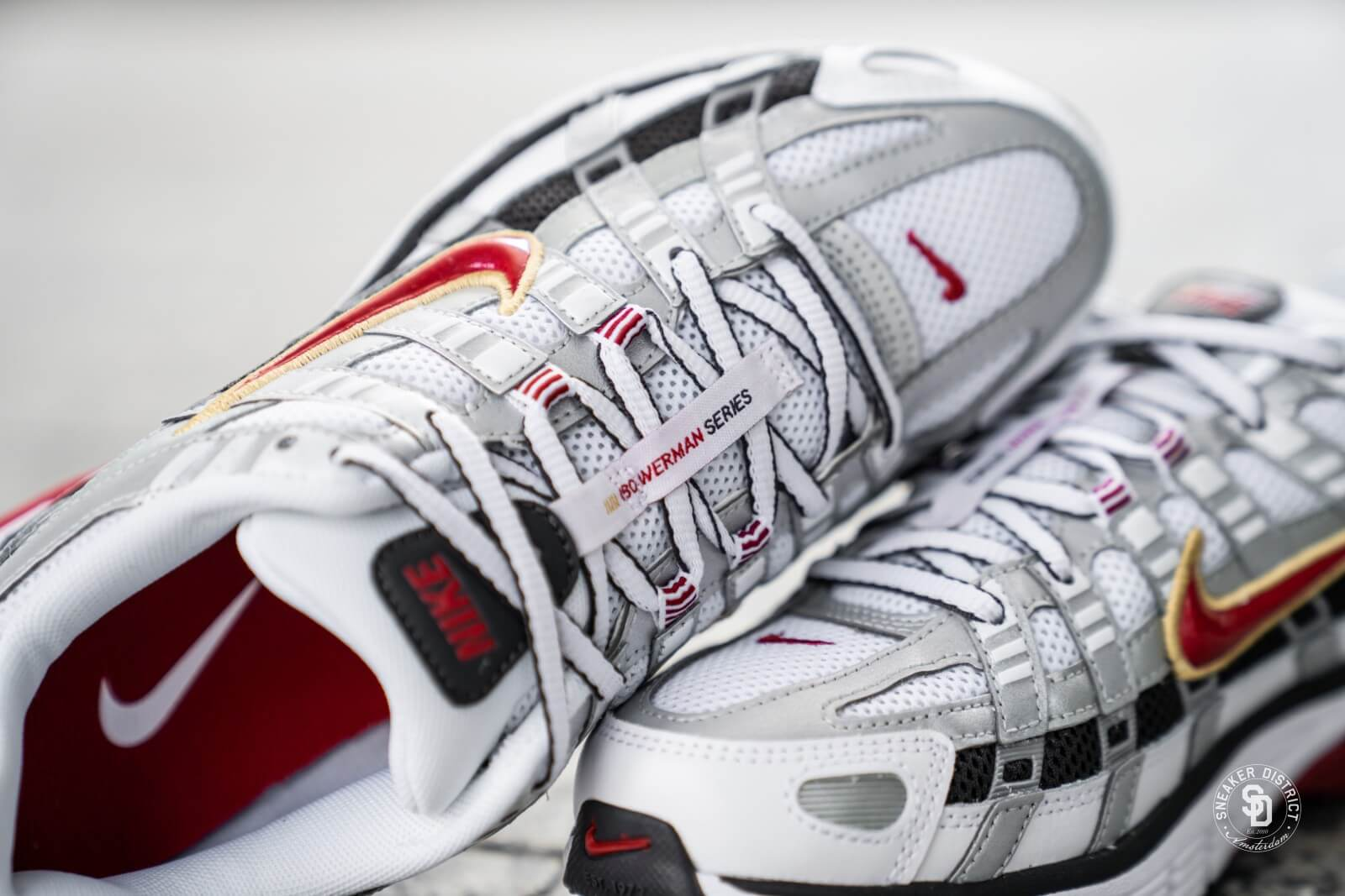 mago impotenza Quasi morto  Nike Women's P-6000 White/Varsity Red-Metallic Platinum - BV1021-101