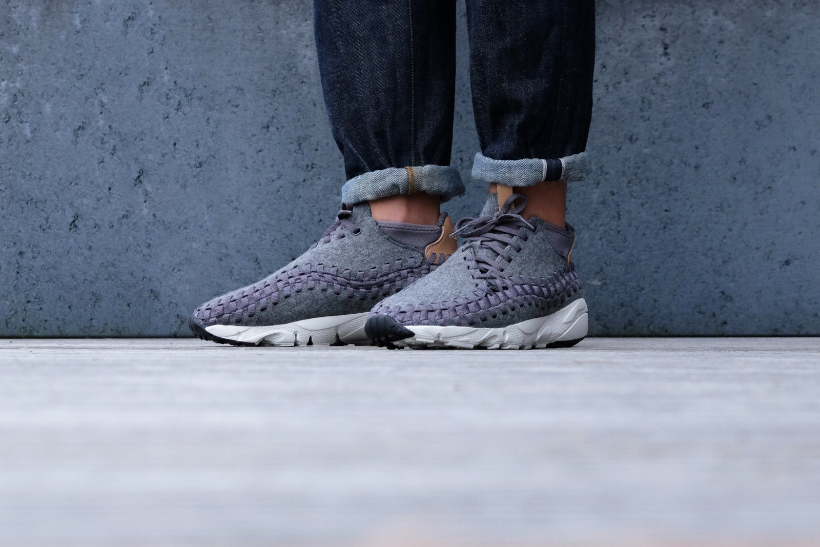 Nike Air Footscape Woven Chukka SE Grey 857874 002