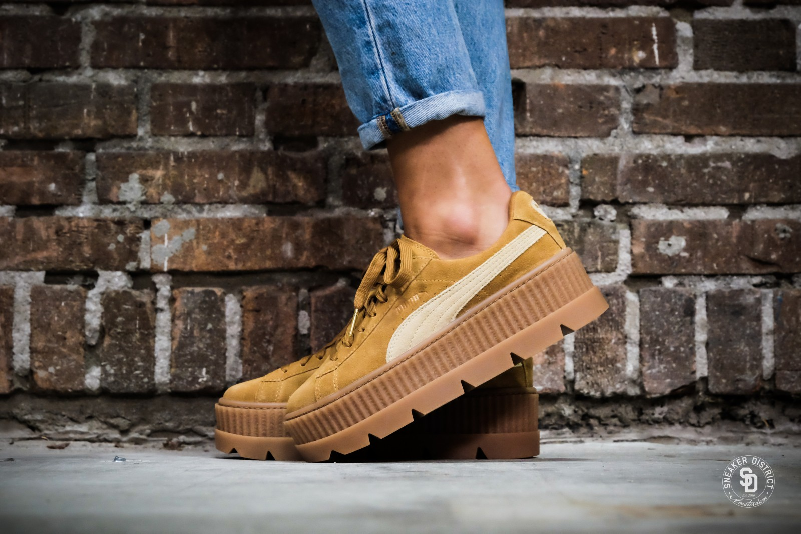 cleated creeper suede