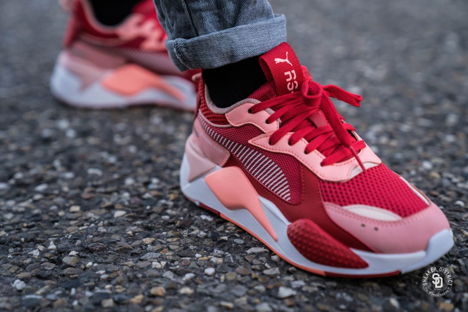 Puma RS-X Toys Bright Peach/High Risk Red - 0369449-07