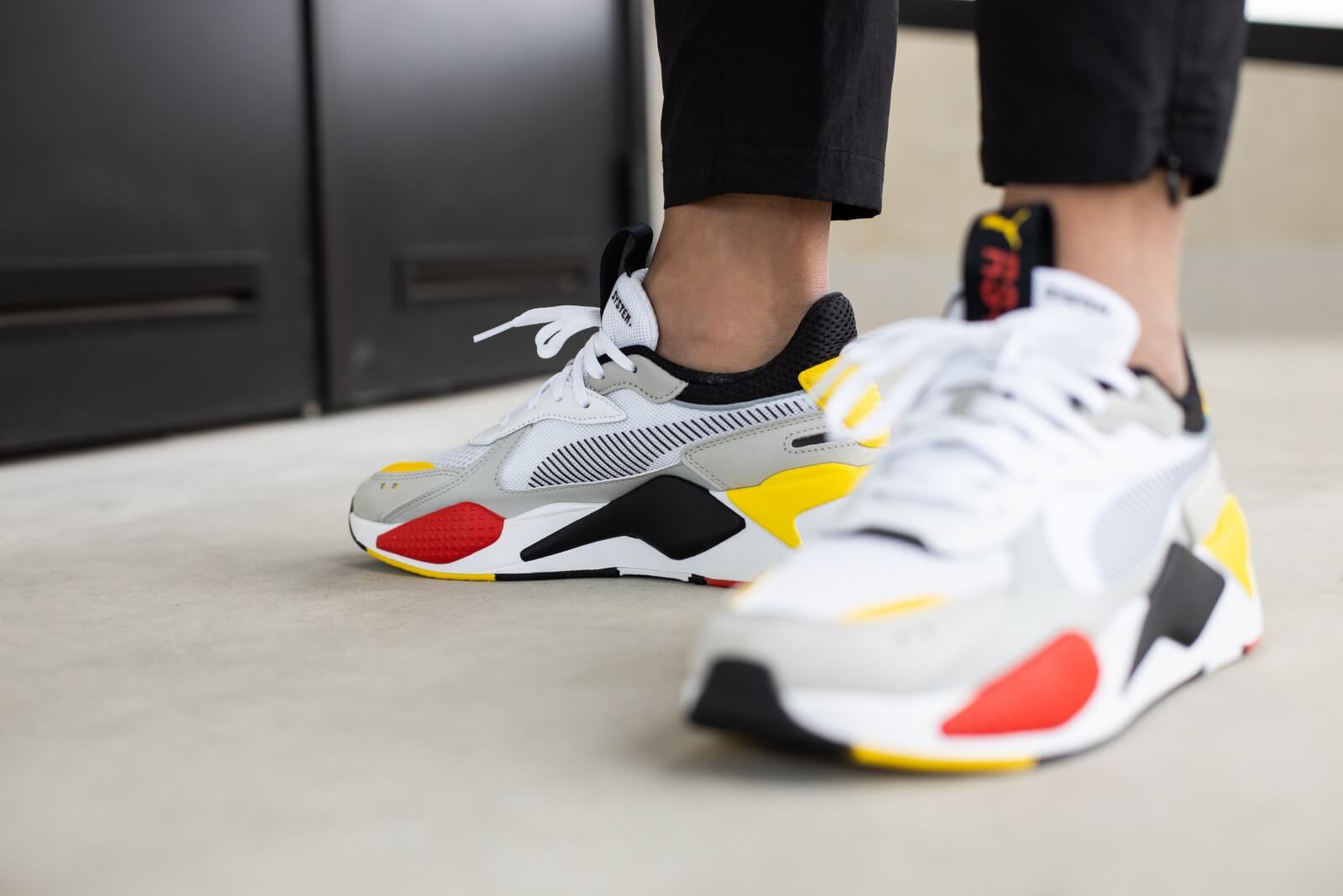 Puma RS-X Toys White/Black-Cyber Yellow - 369449-15