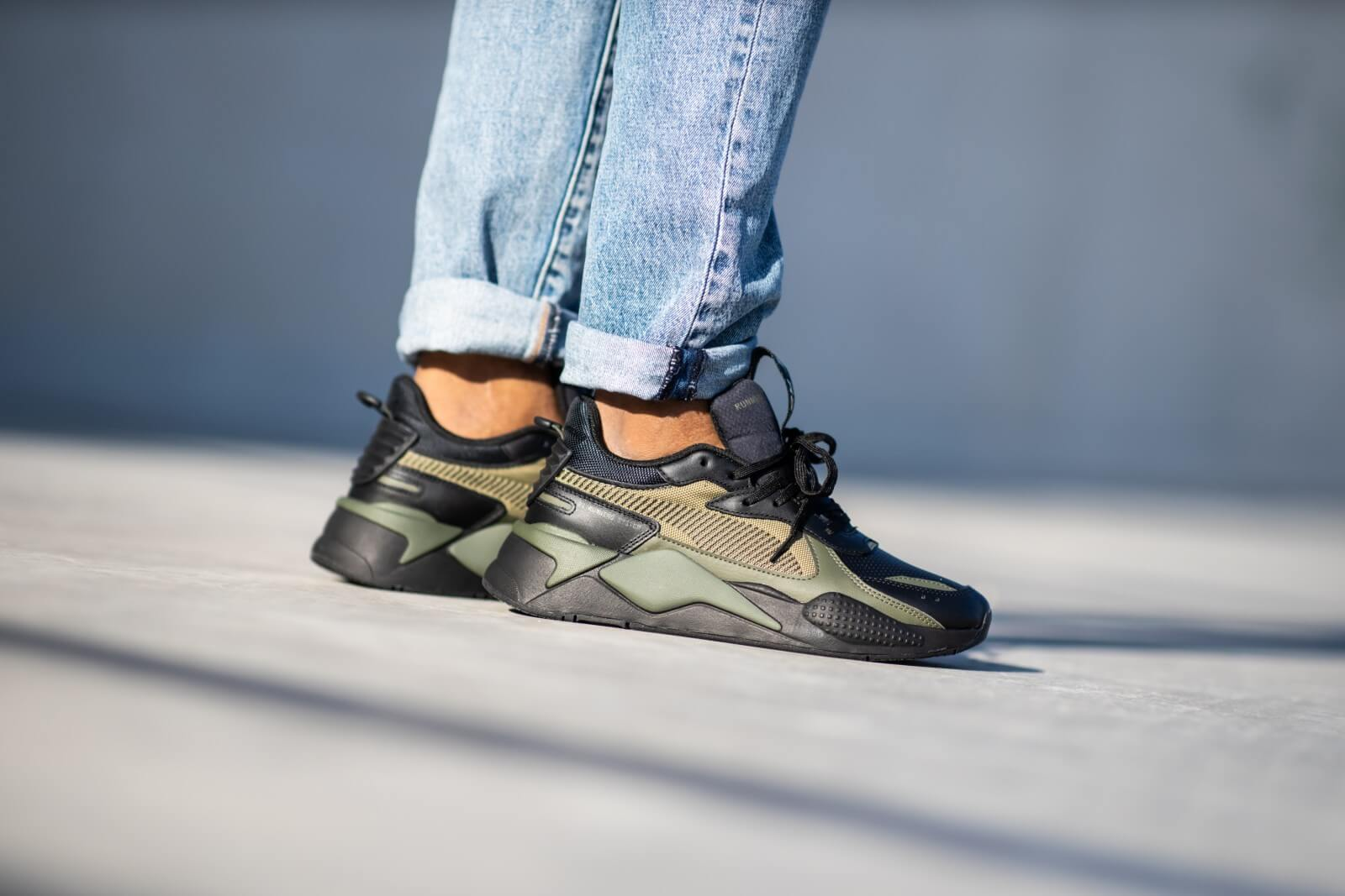 Puma RS-X Winterized Black/Olive - 370522-03
