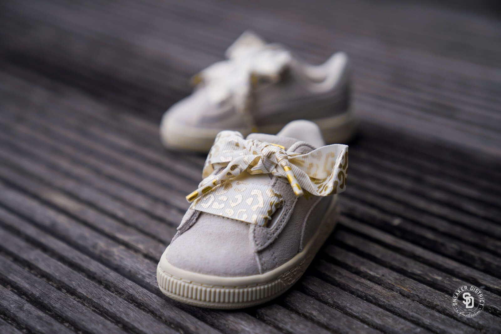 Puma Suede Heart Ath Lux Infant Whisper