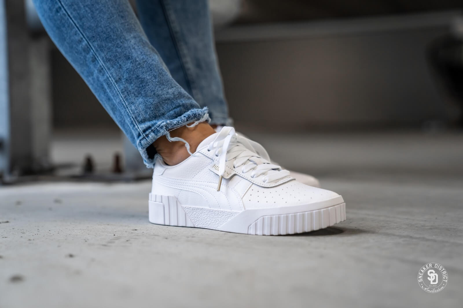 Cali Puma White/Puma White - 369155-01