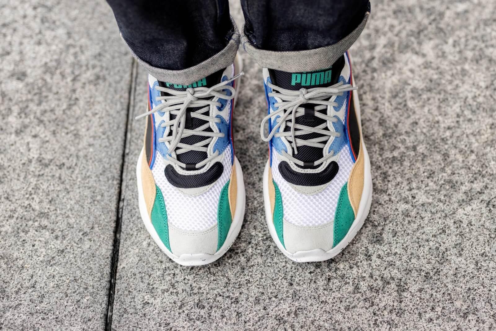 Puma X The Hundreds Rs 2k White Asparagus Puma Black 373724 01