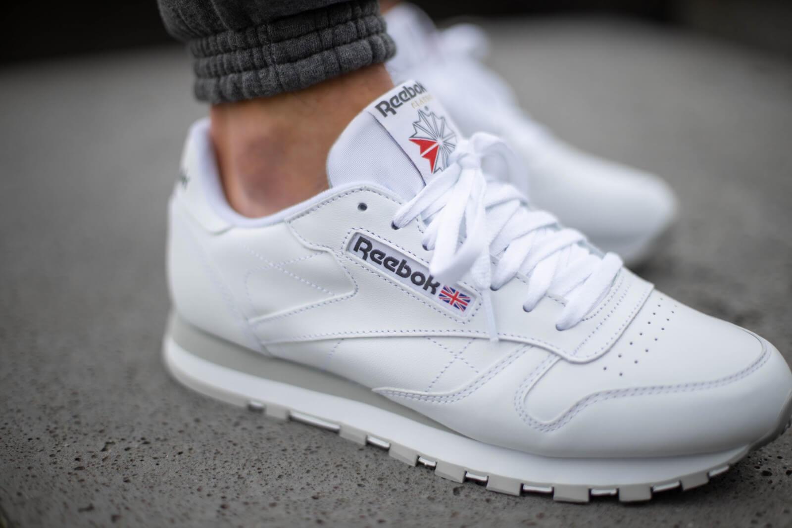 reebok grey sneakers