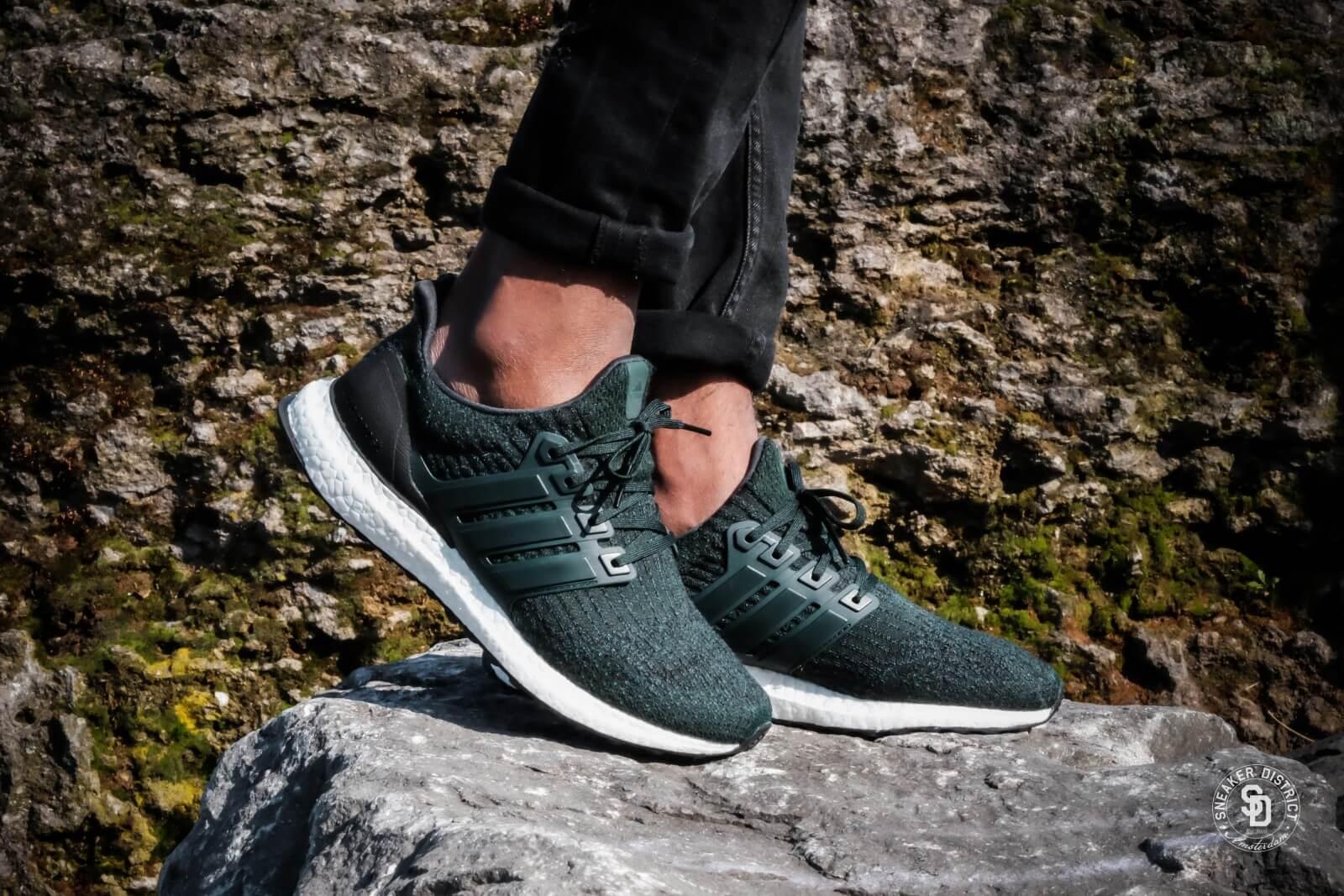 Adidas Ultra Boost 3.0 Night Green
