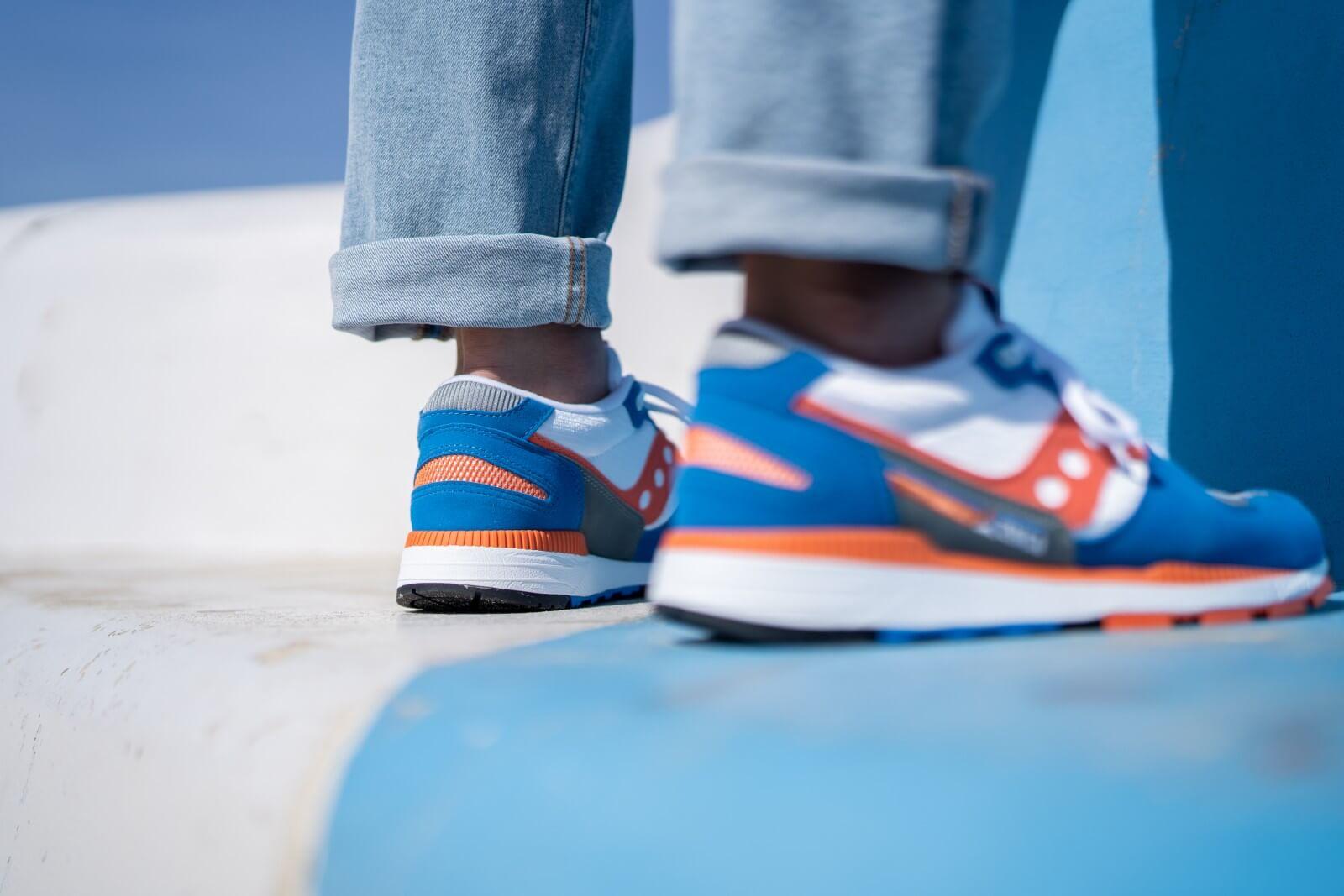 Saucony Azura Grey/Orange-Blue - S70437-36