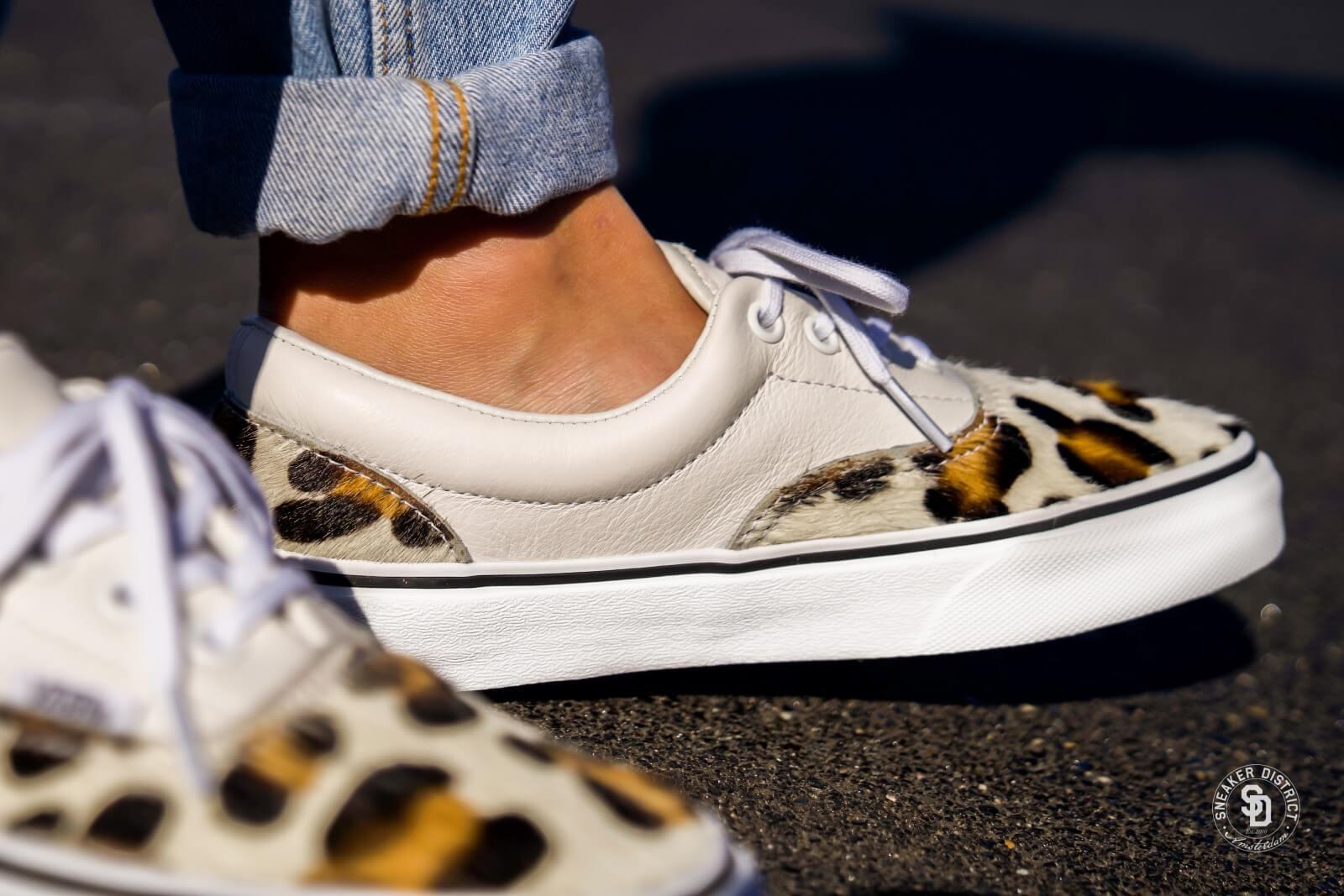 Vans Women's Era Calf Hair Leopard/True