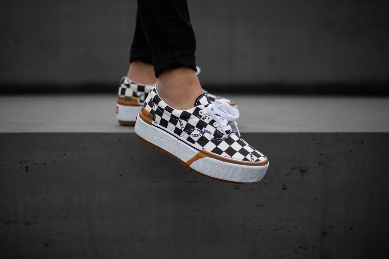 Vans Era Stacked Checkerboard
