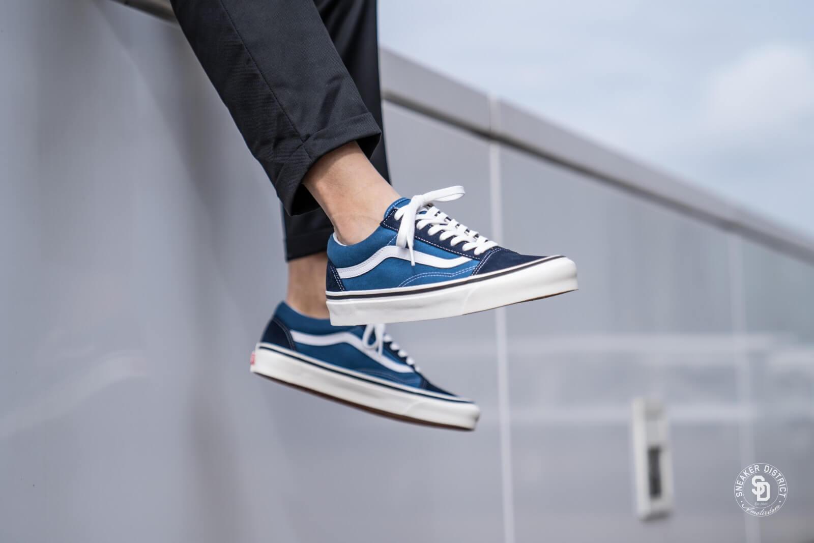 ua old skool vans blue gum