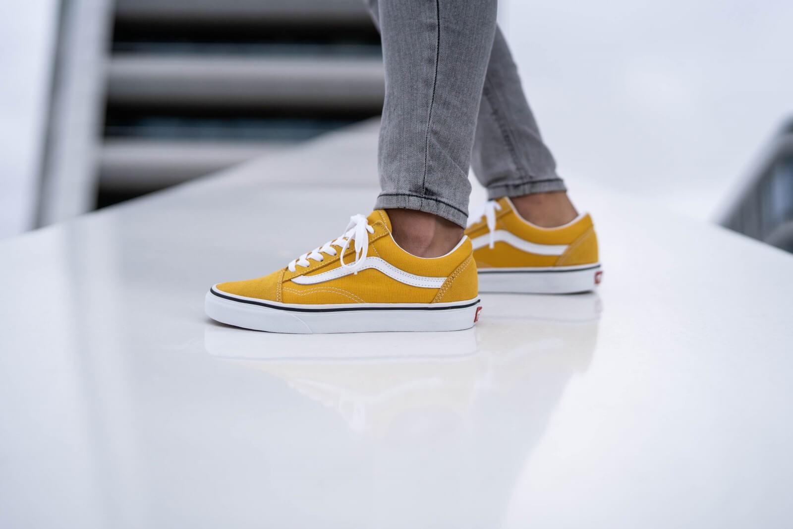 Vans Old Skool Yolk Yellow/True White