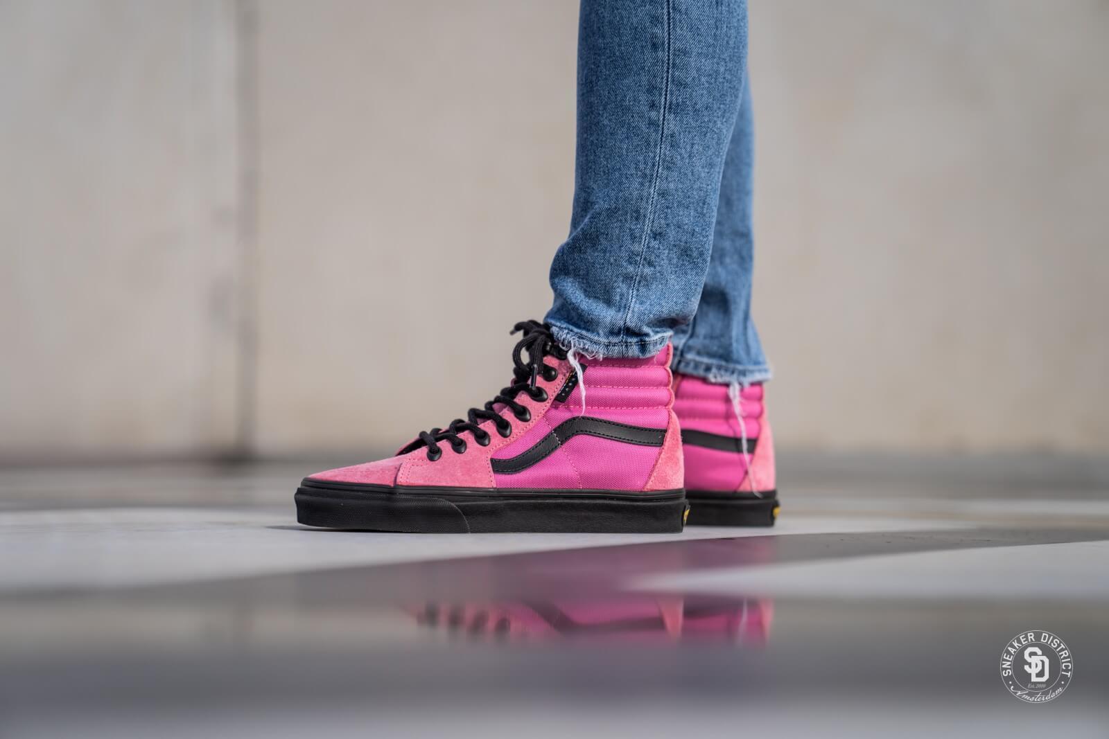 VANS Sk8 Hi Sneaker für Damen Pink