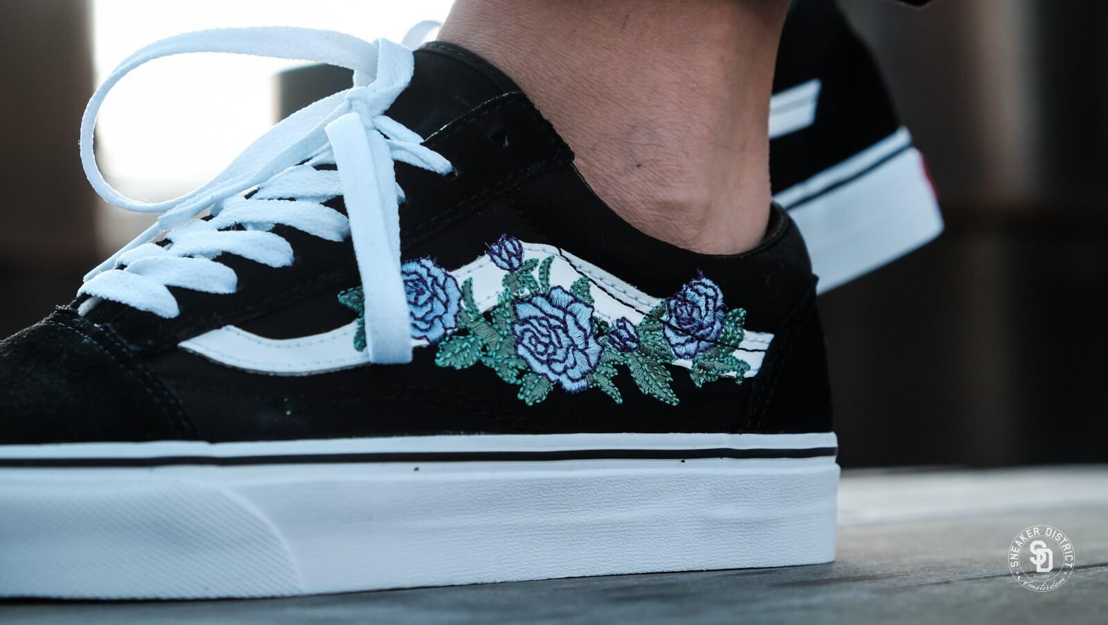 Vans Rose Thorns Old Skool Shoes Outlet Online, UP TO 64% OFF