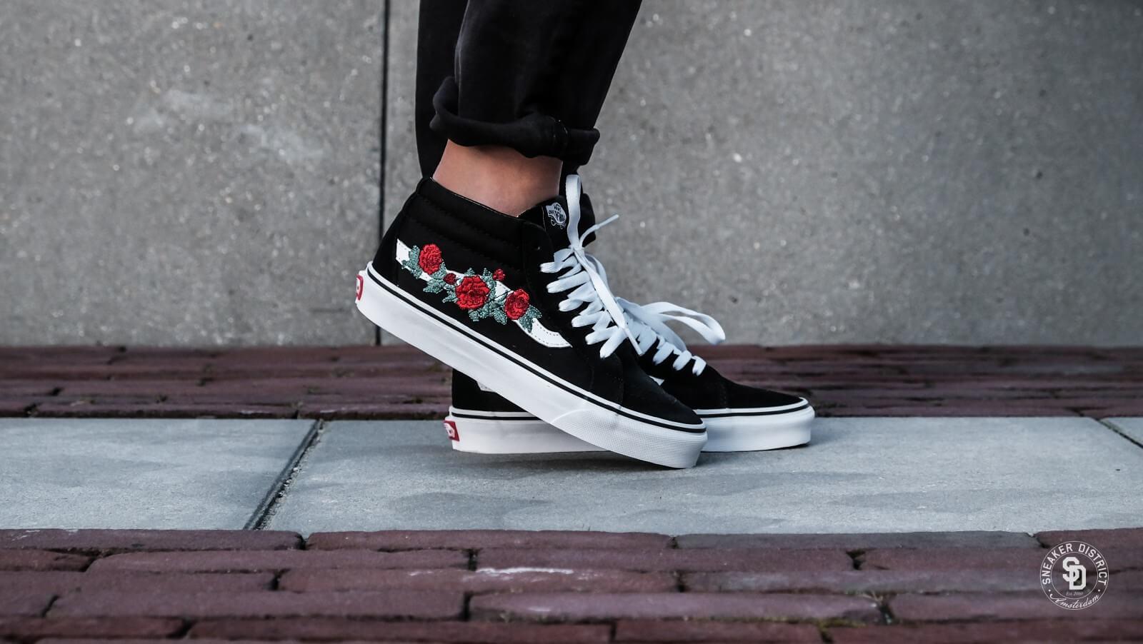 Vans Rose Thorns Old Skool Shoes Flash Sales, UP TO 58% OFF