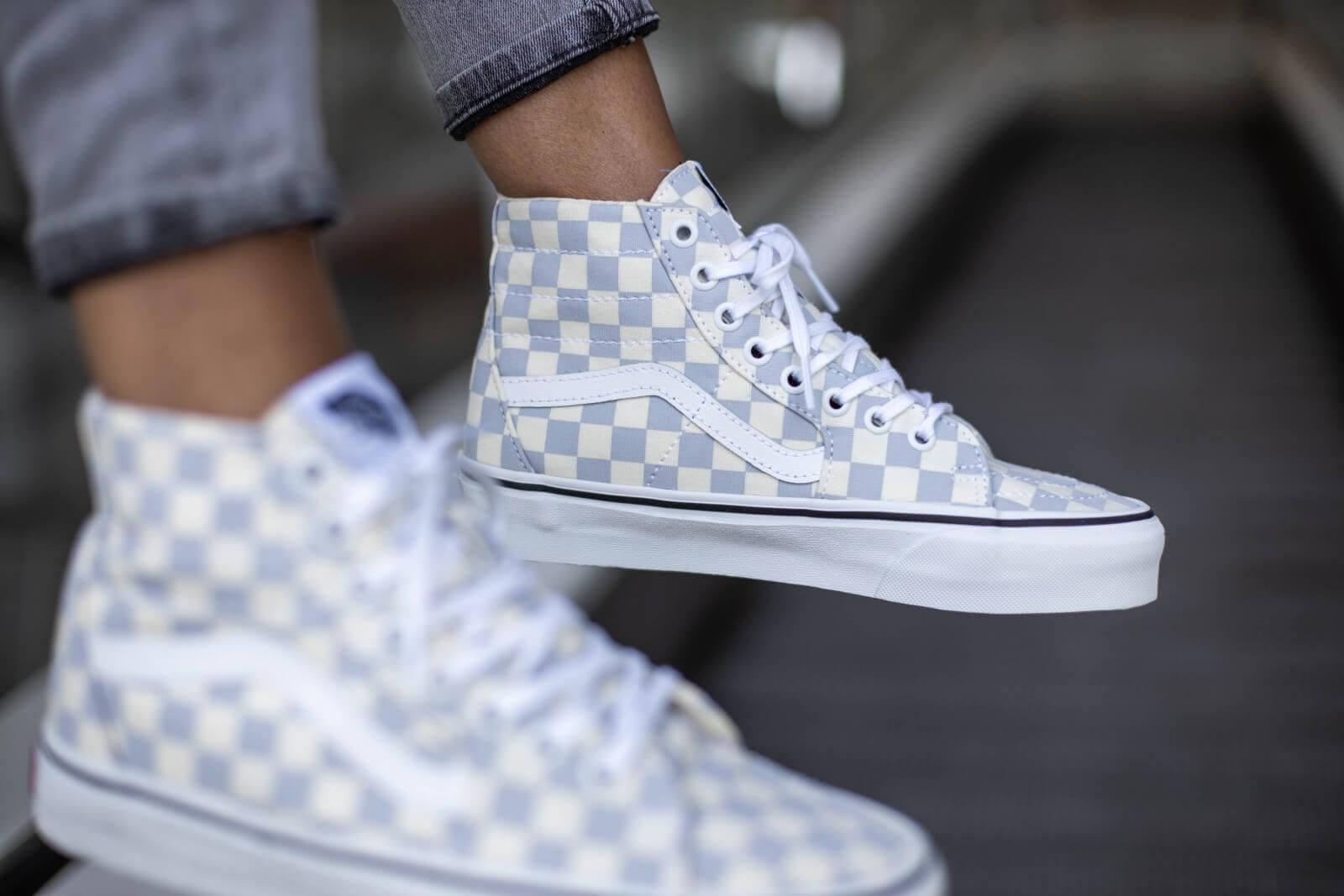 Vans Sk8-Hi Tapered Checkerboard Zen