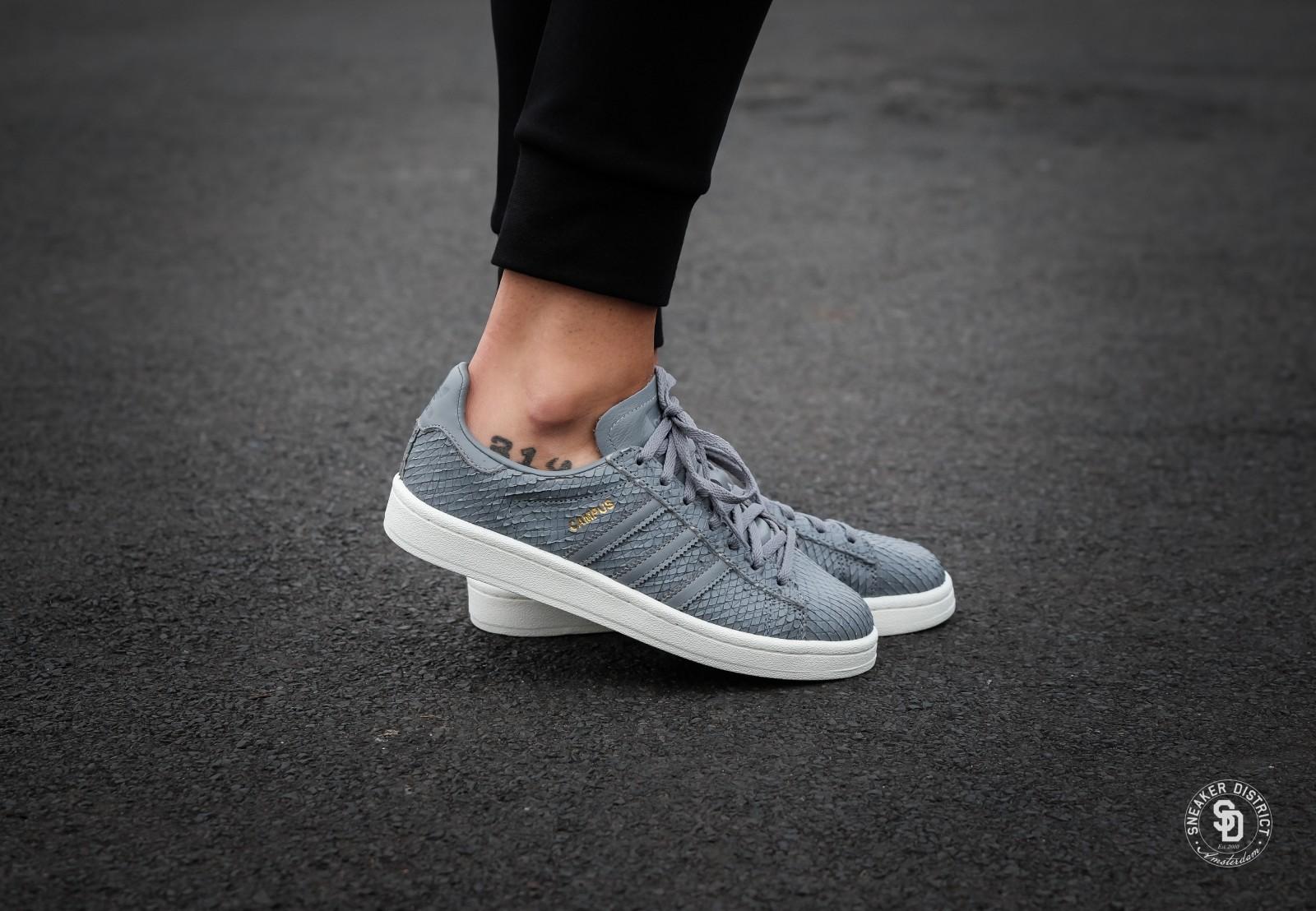 Adidas Women's Campus Grey/White