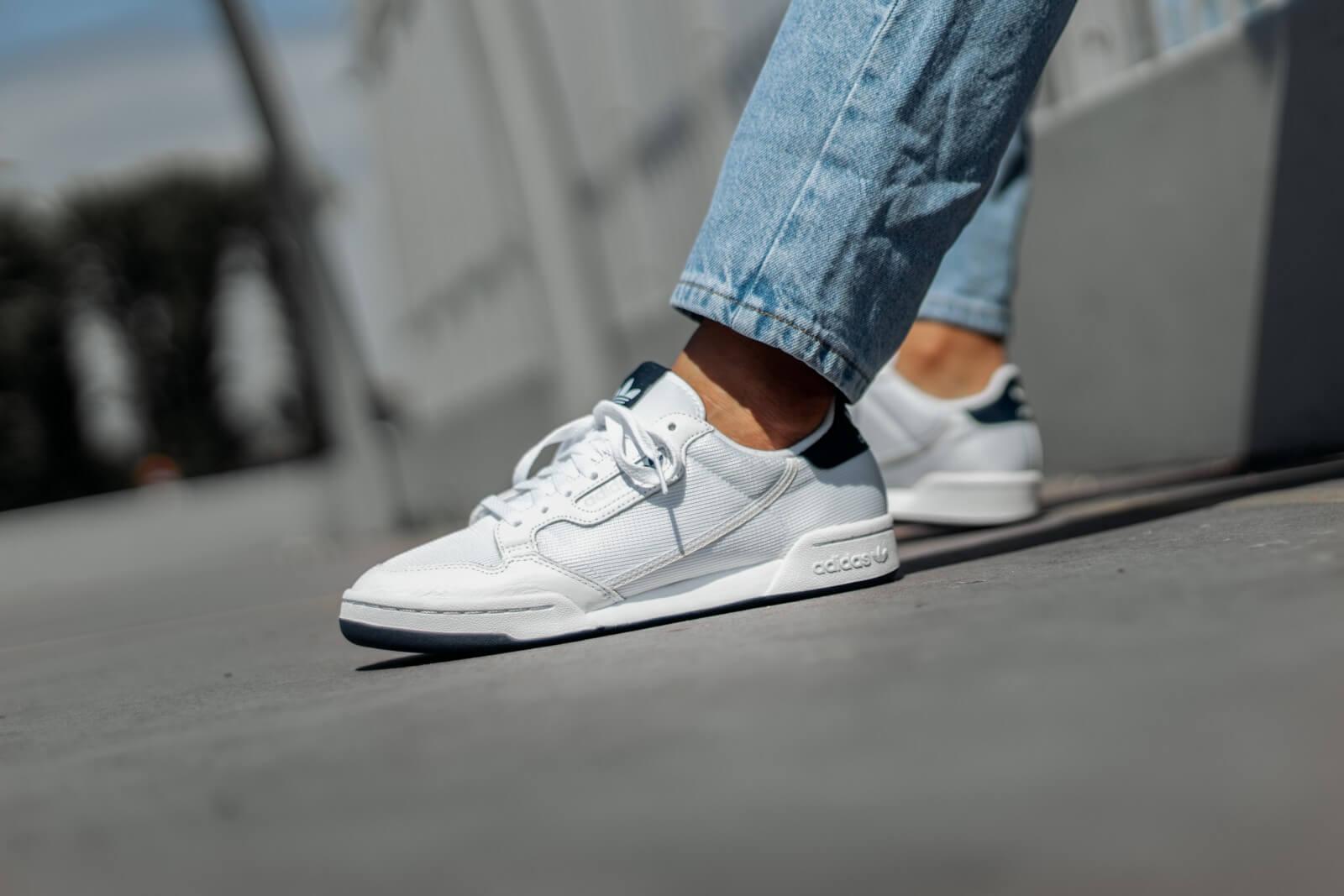 Adidas Continental 80 Cloud White/Grey