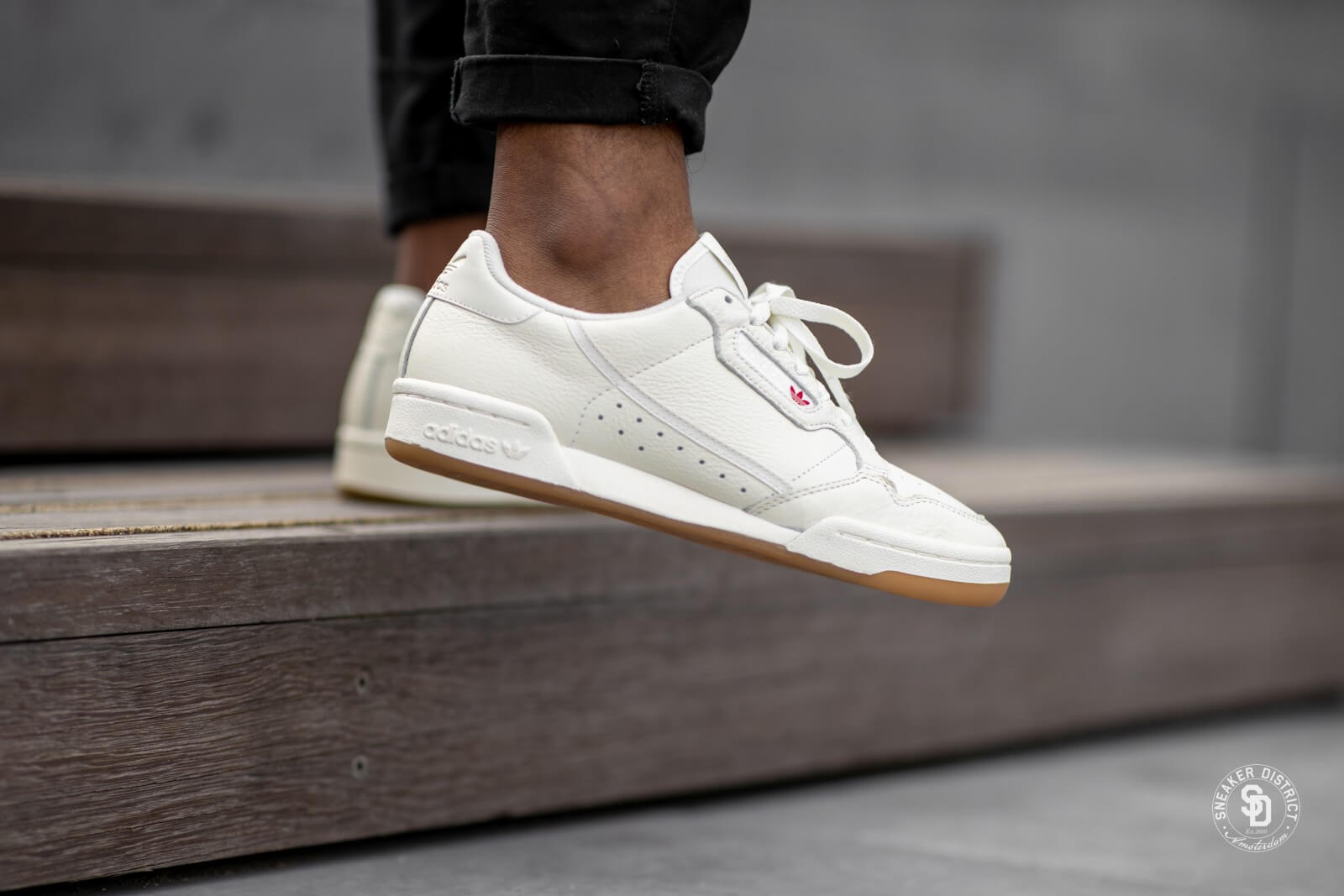 Adidas Continental 80 Off White/Raw White - BD7975