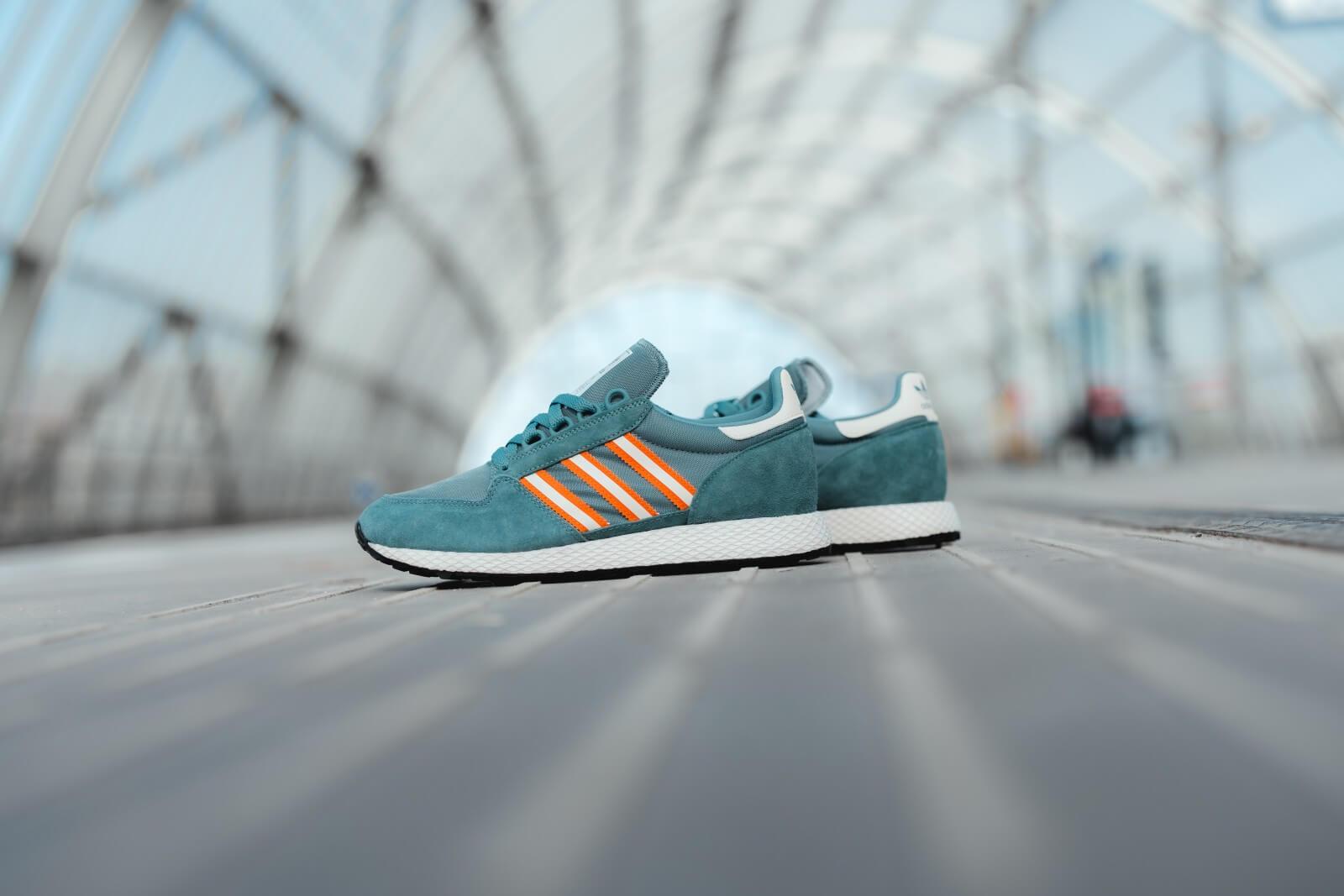 Adidas Forest Grove Green/Orange - EF5467