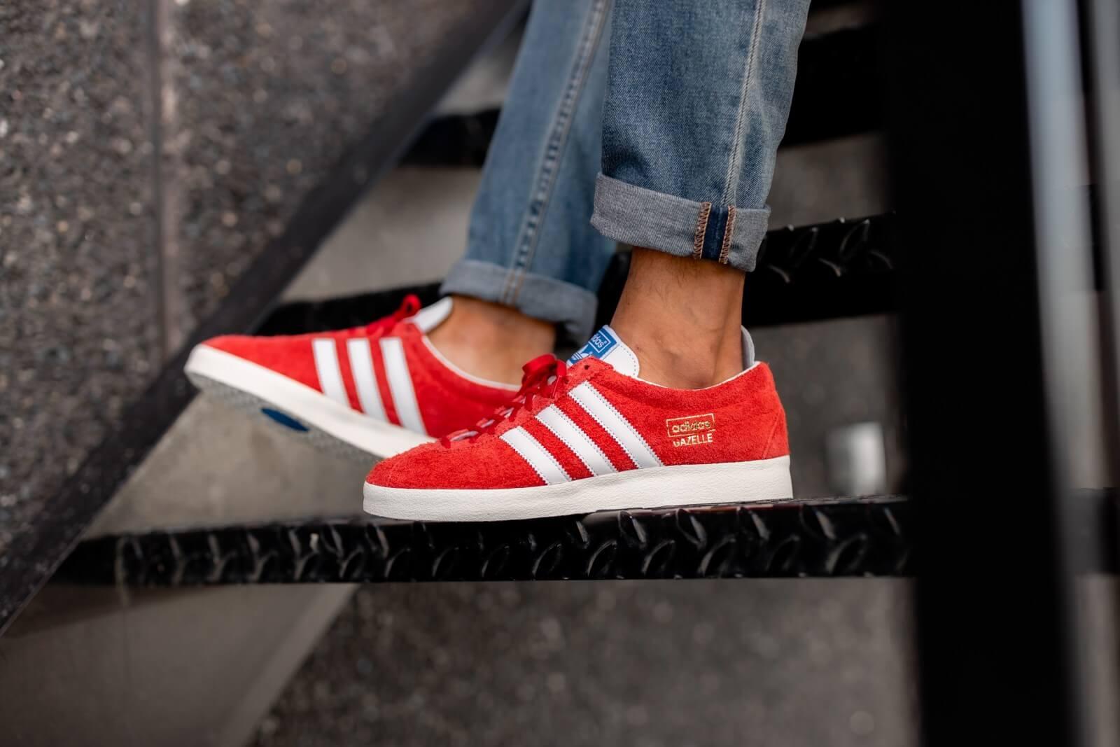 Adidas Gazelle Vintage Scarlet/Footwear
