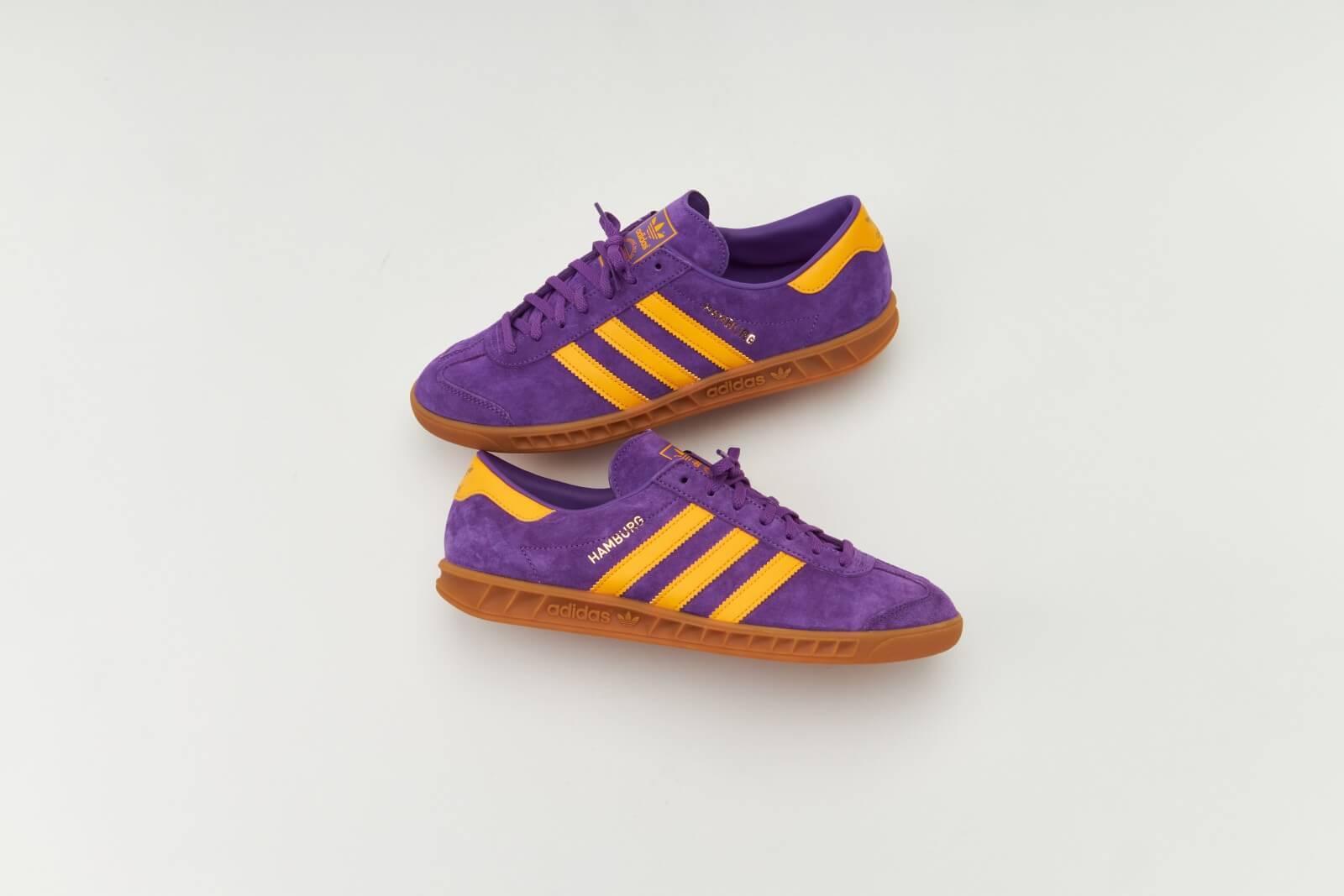 Adidas Hamburg Active Purple/Semi Solar Gold-Gum 2