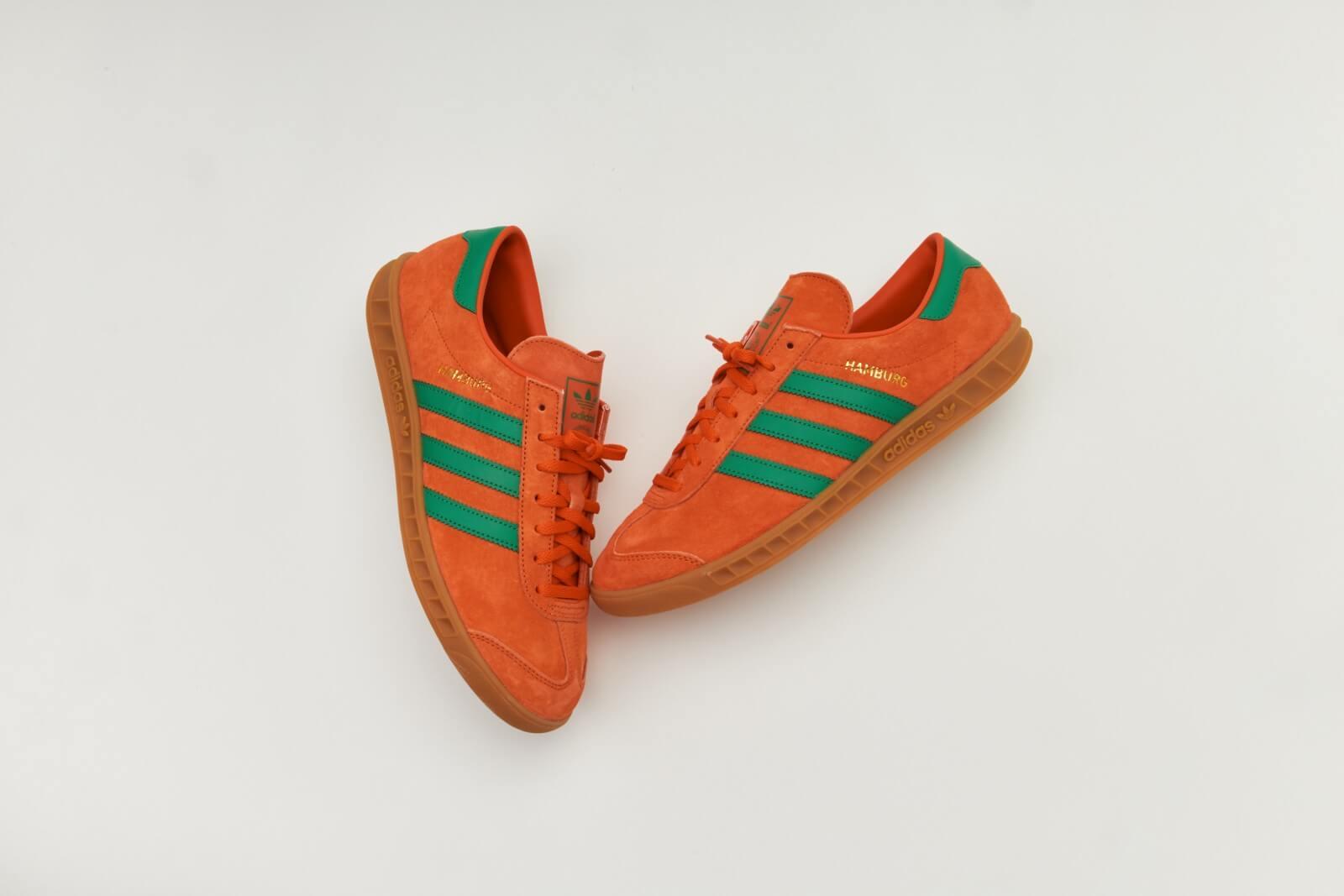 Adidas Hamburg Team Orange/Team Green-Gum