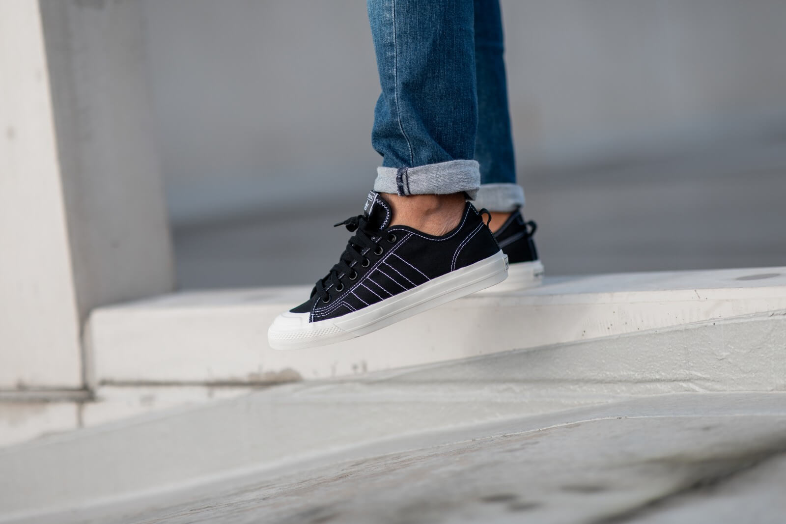 Adidas Nizza RF Core BlackOff White EE5599