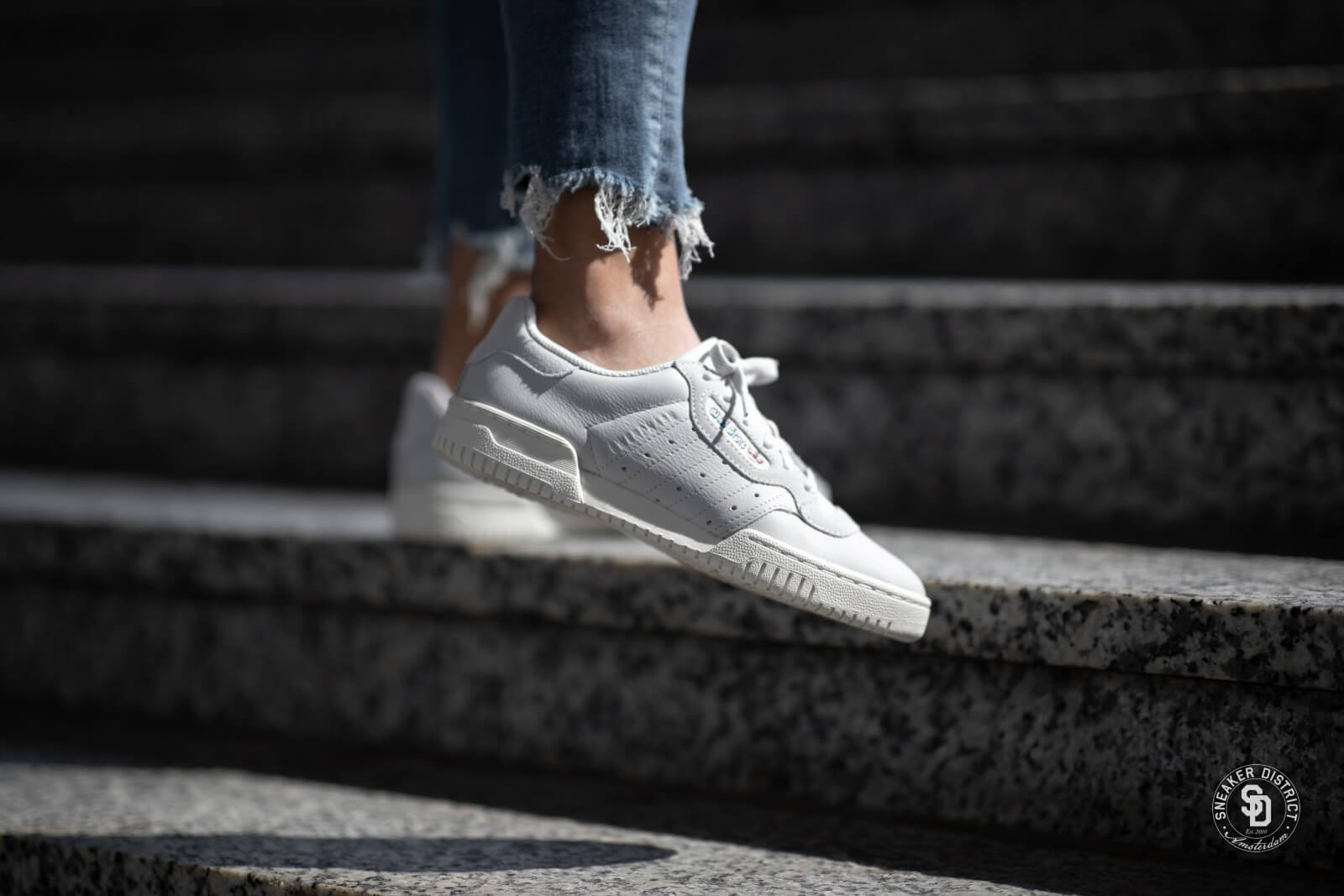 Adidas Powerphase Grey One/Off White