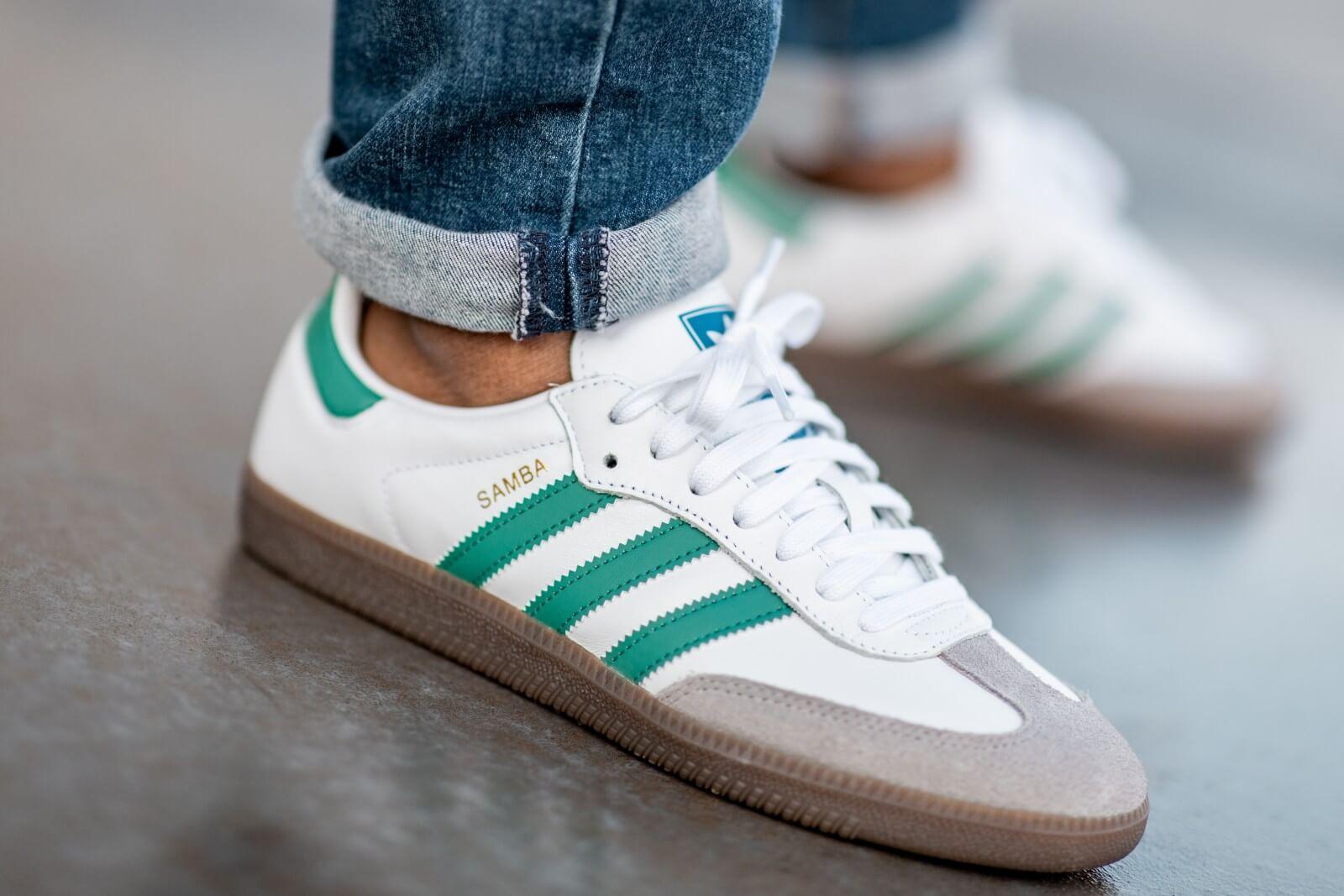 Adidas Samba OG Footwear White/Green