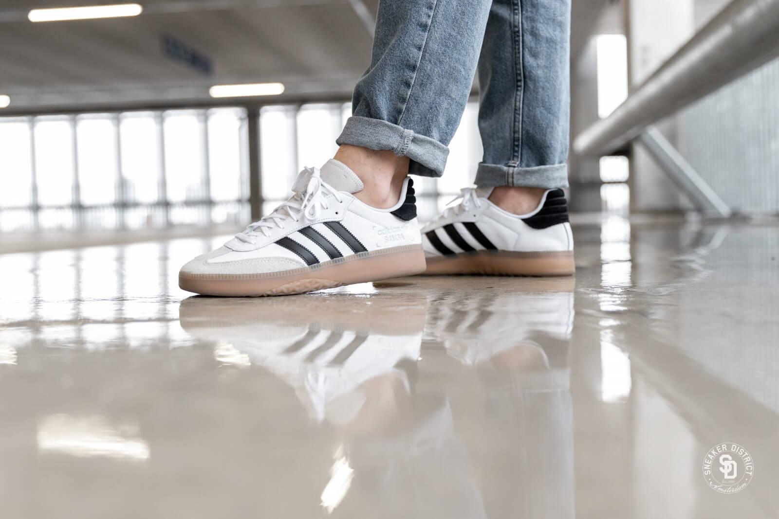 adidas samba rm white black cheap online