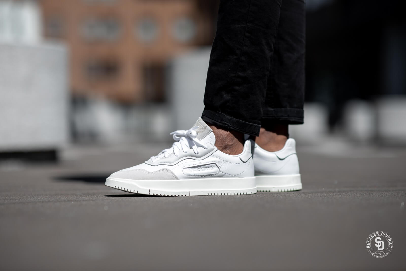 Adidas SC Premiere Crystal White/Chalk