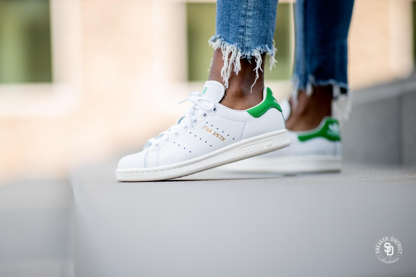 Adidas Stan Smith Footwear WhiteFootwear White Green EF7508