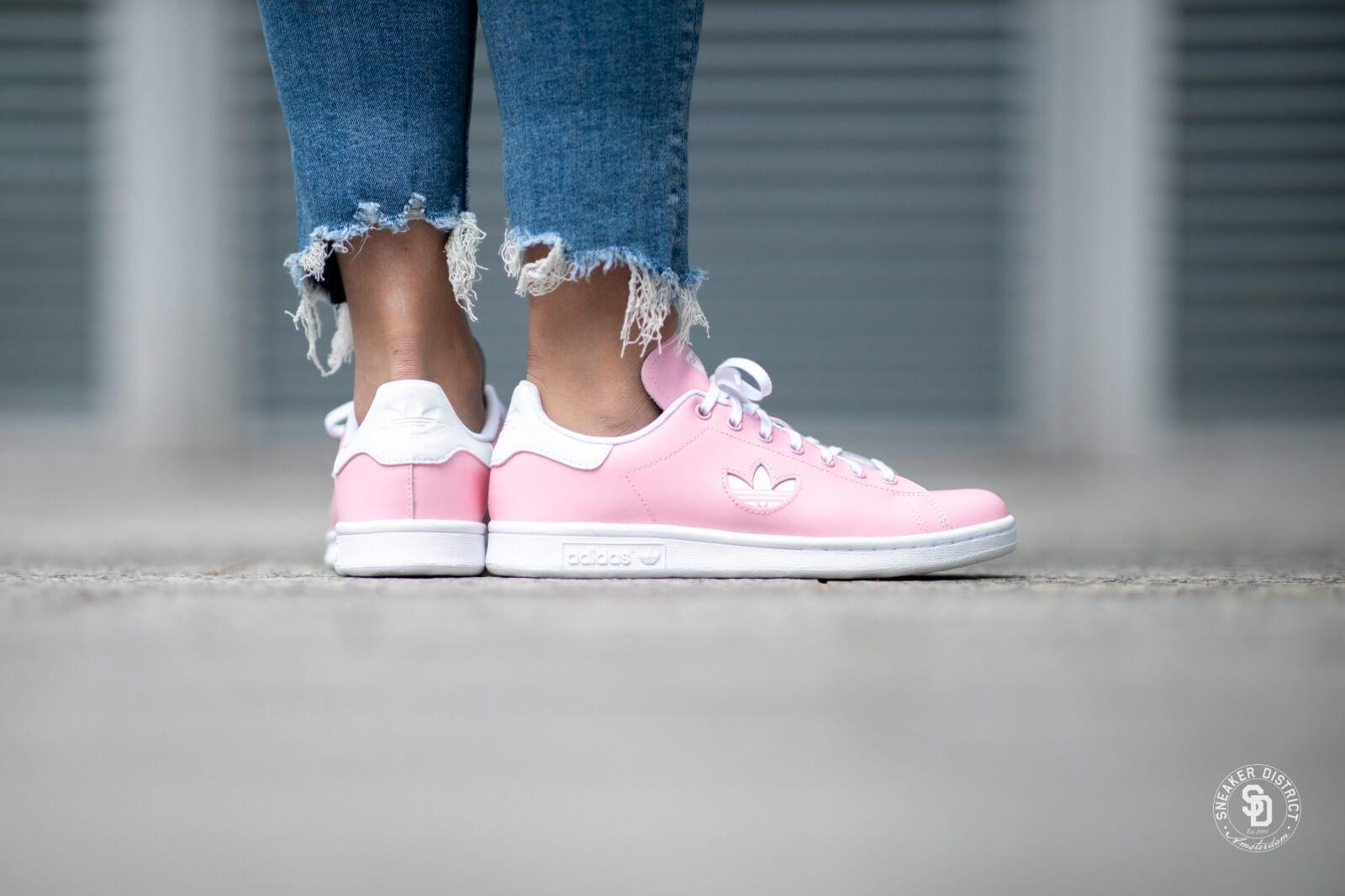 Adidas Stan Smith Light Pink/White - CG6670