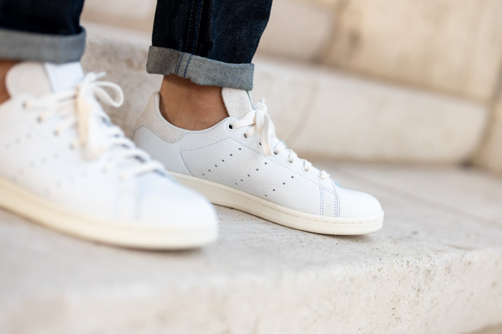 A picture of Stan Smith Premium Basics Pack Cloud White/Crystal White-Off White