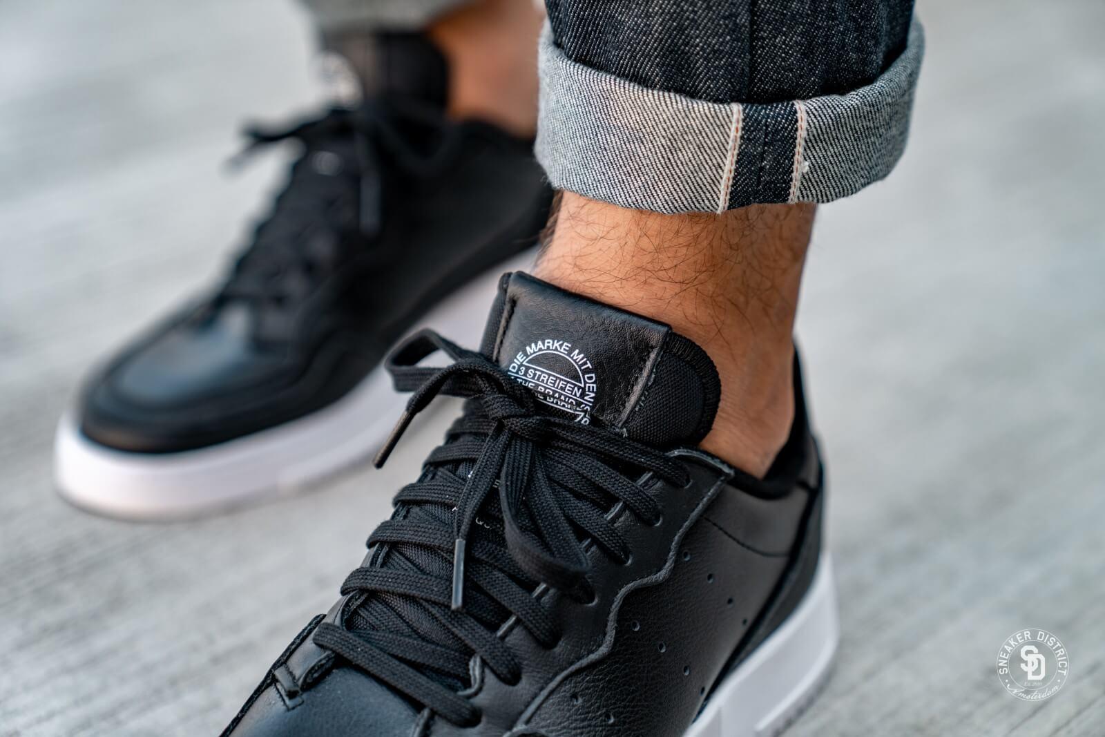 Adidas Supercourt Core Black/Footwear White