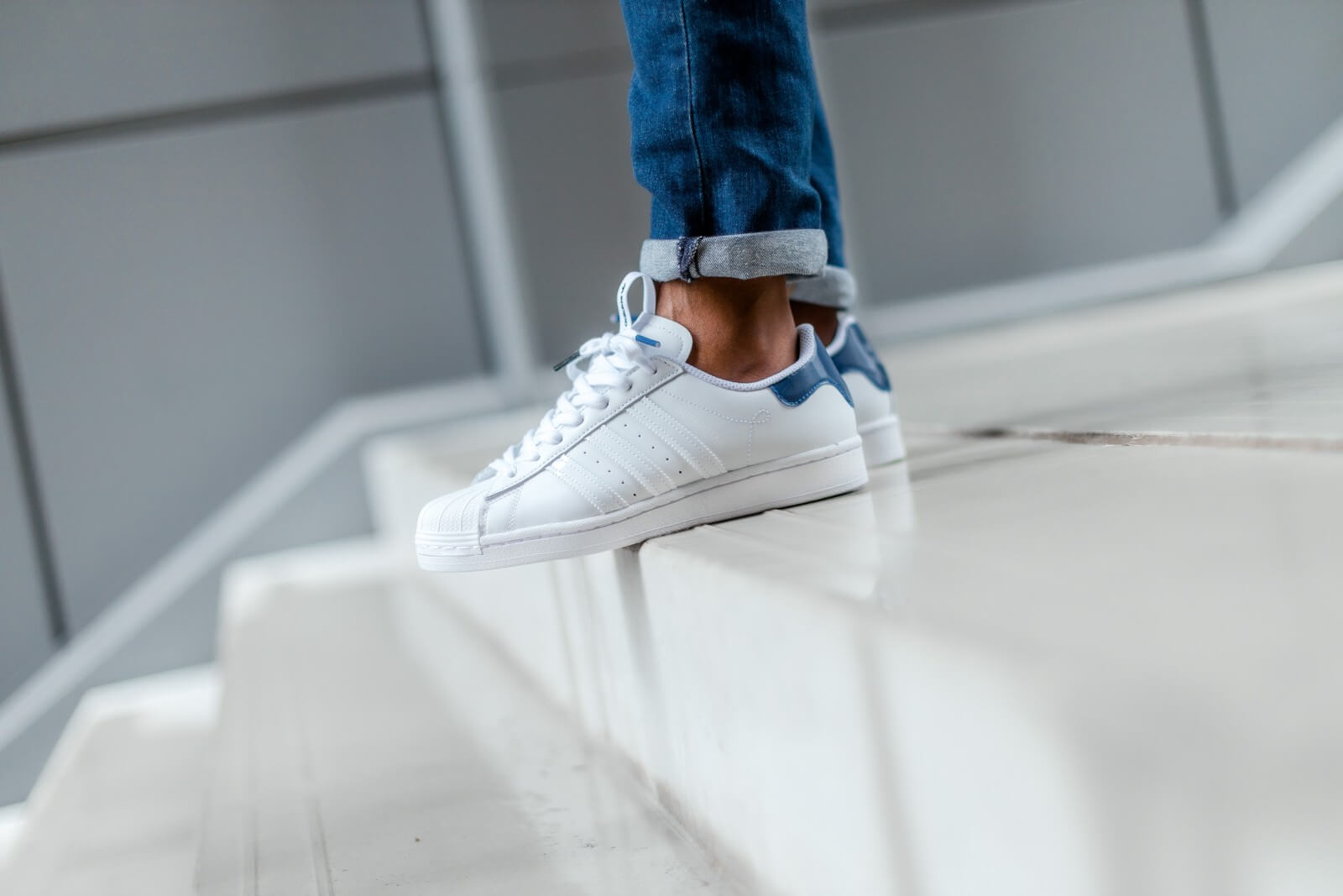 Adidas Superstar New York Footwear White/Collegiate Royal - FW2803