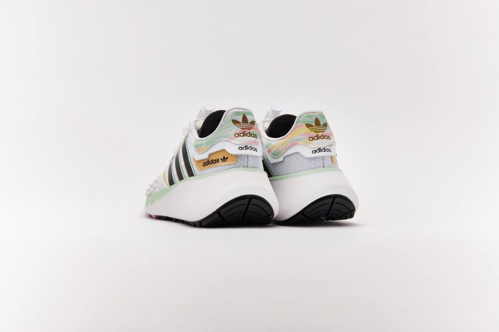 Adidas Women's Choigo Footwear White/Core Black-Frozen Green