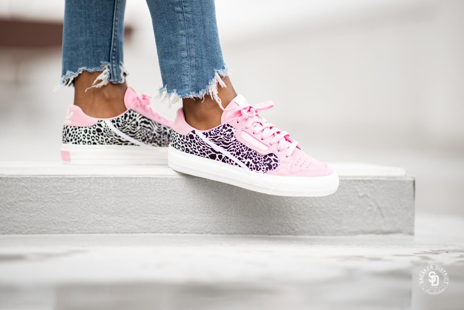 Adidas Women's Continental Vulc True Pink/Cloud White