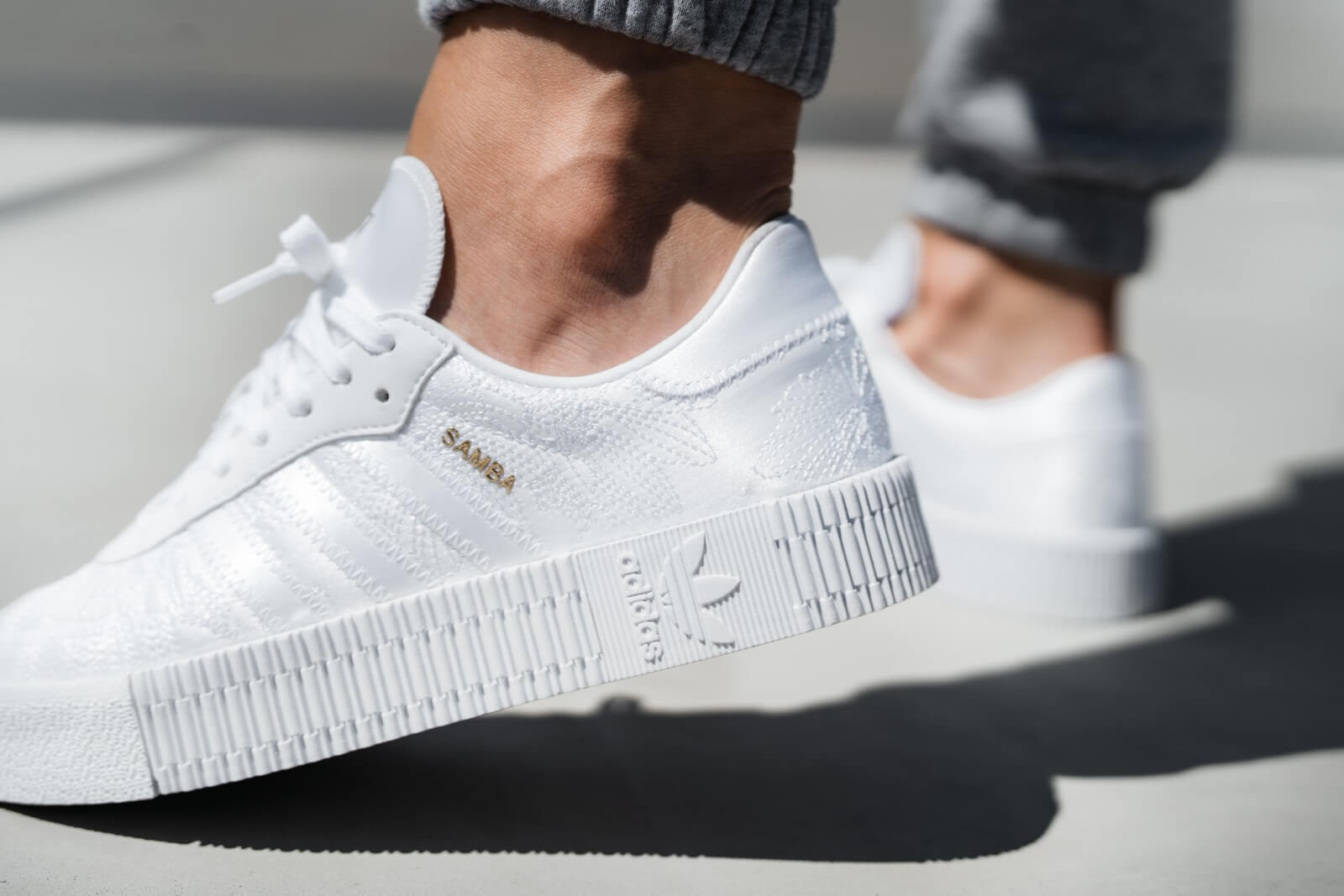 Adidas Women's Sambarose Cloud White