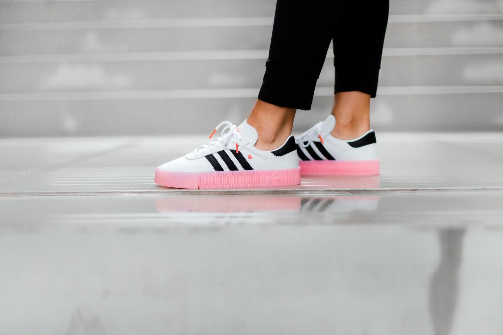Adidas Women's Sambarose Footwear White