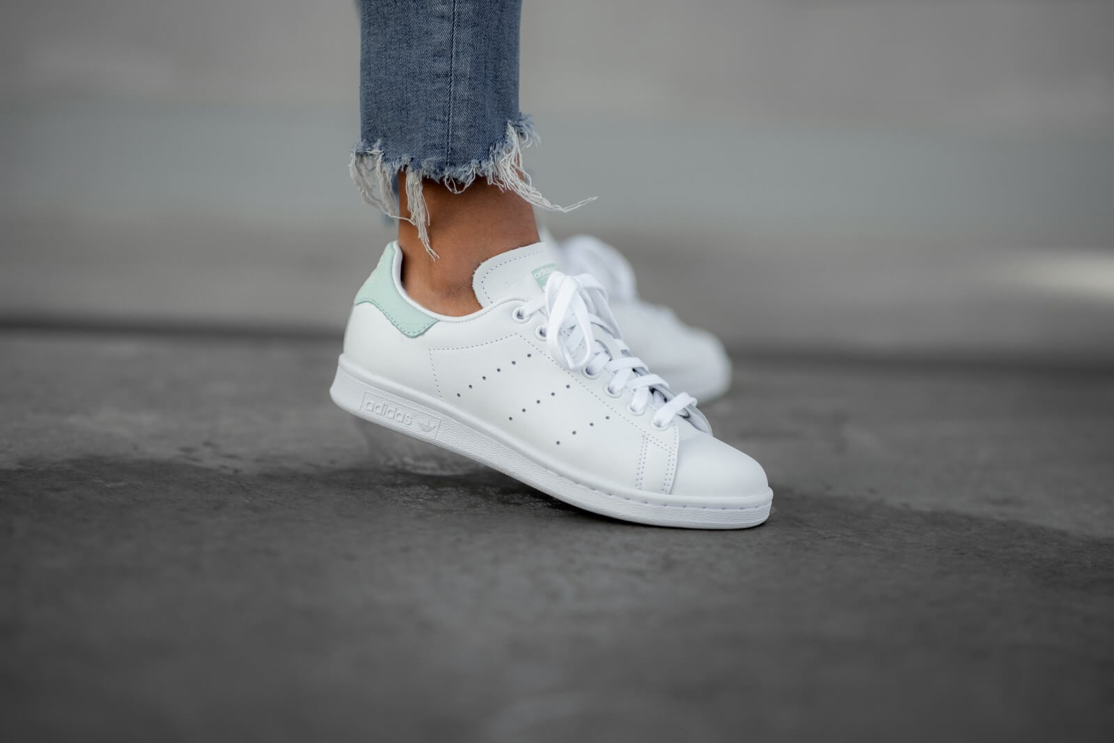 Stan Smith Footwear White/Dash Green