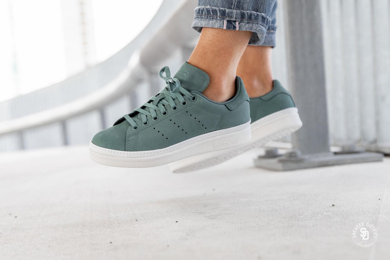 Adidas Women's Stan Smith New Bold Raw Green/Cloud White