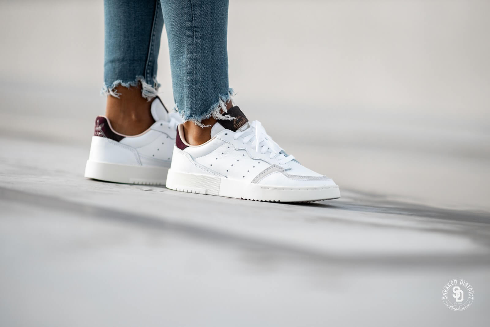Adidas Supercourt Footwear WhiteCore Sneaker District
