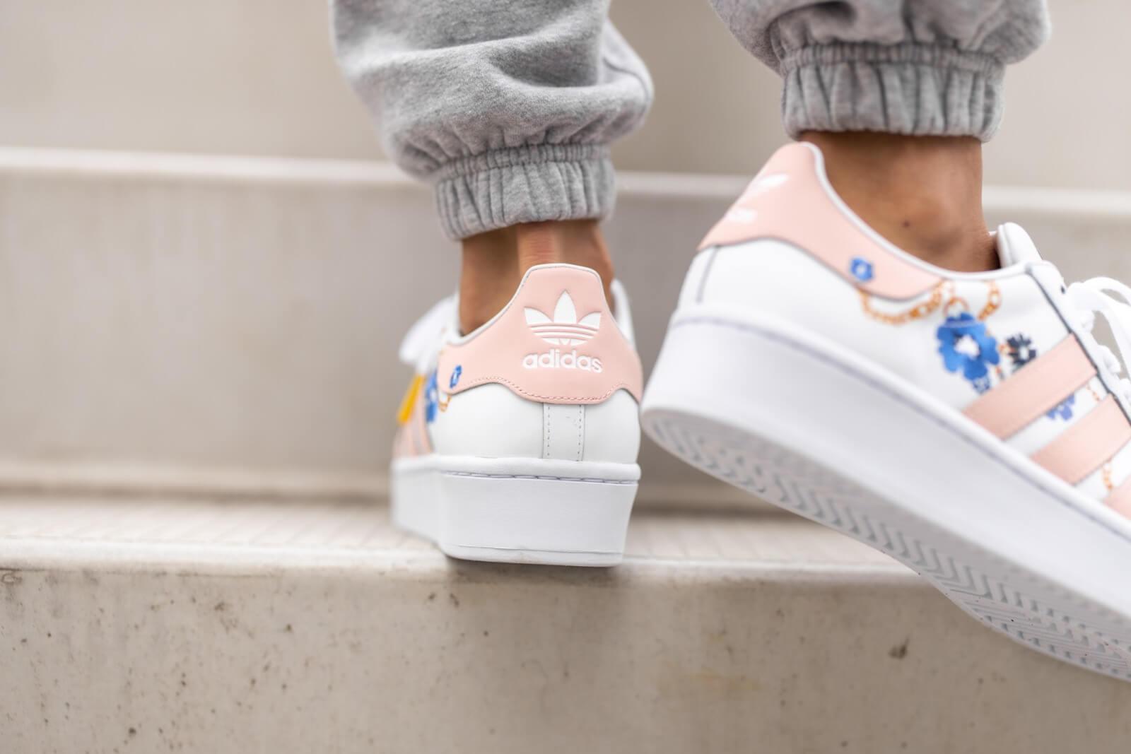Adidas Women's Superstar Bold Her Studio Cloud White/Vapour Pink ...