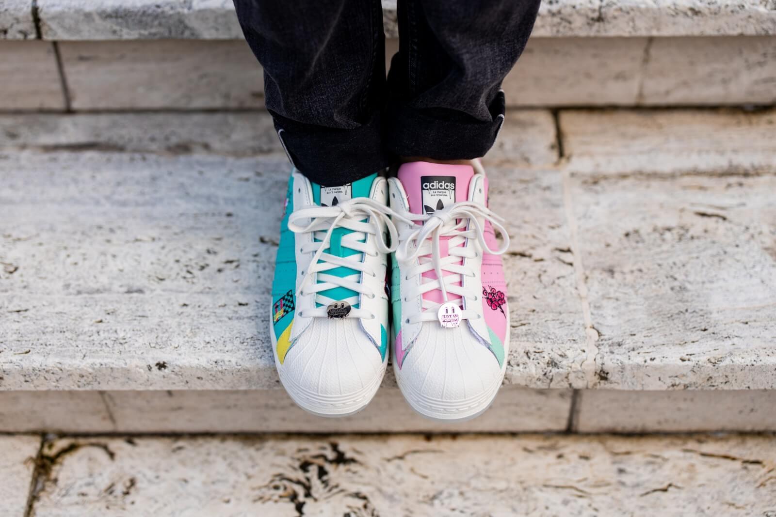 Adidas x Arizona Ice Tea Superstar Chalk White/Mutlicolor